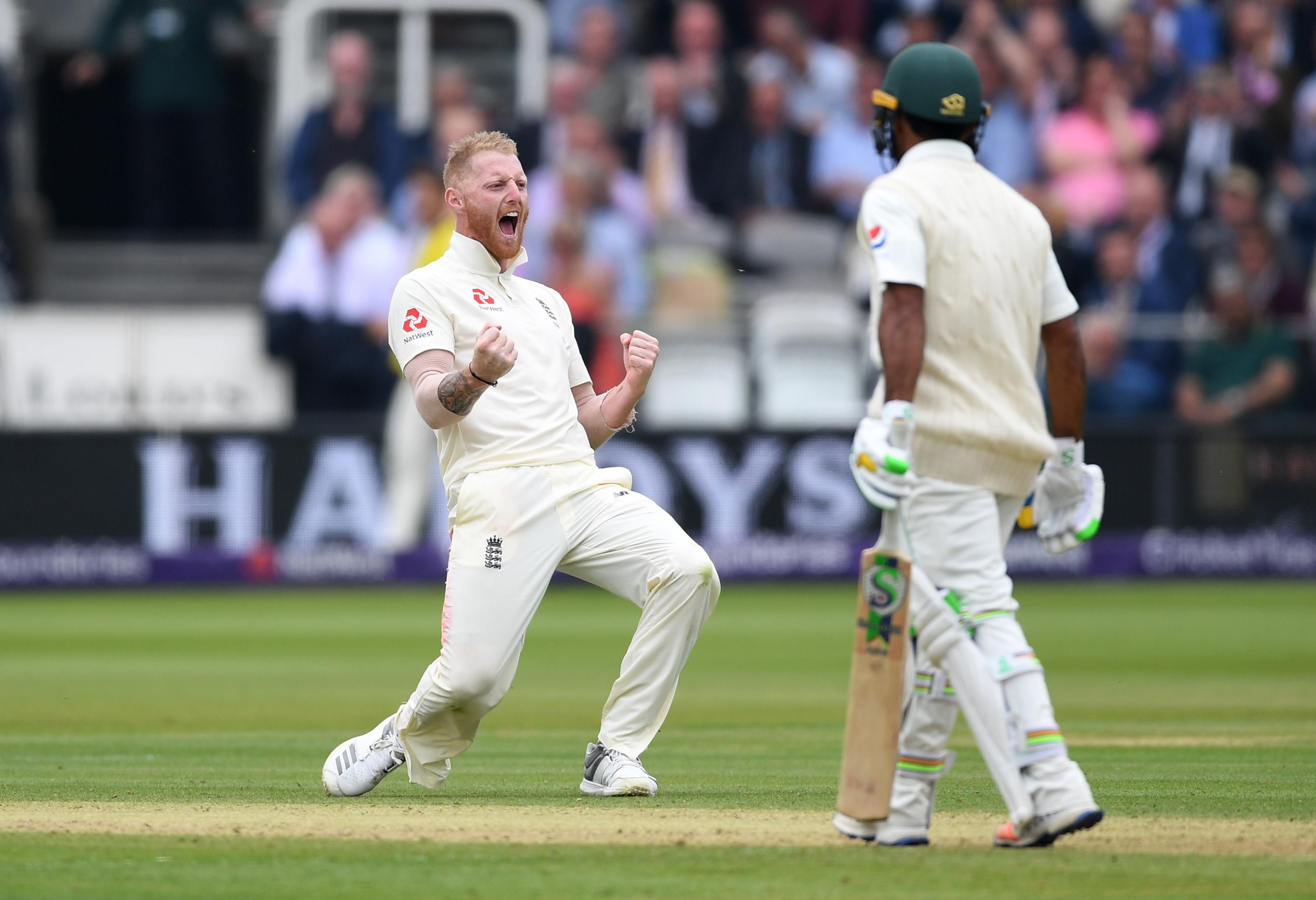 Ben Stokes took three wickets to keep England in with a chance in the first Test