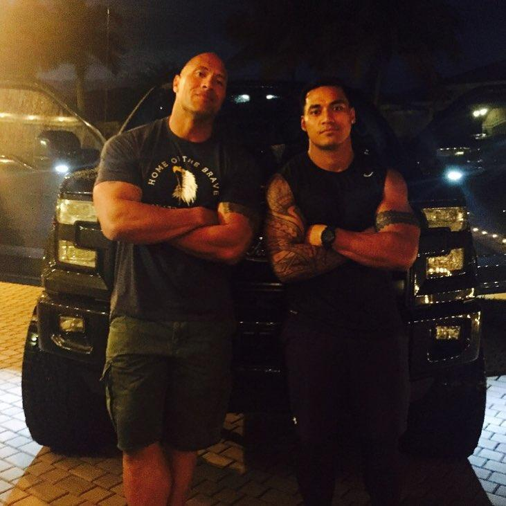 Vaivai says a chat with Johnson during a family reunion was pivotal