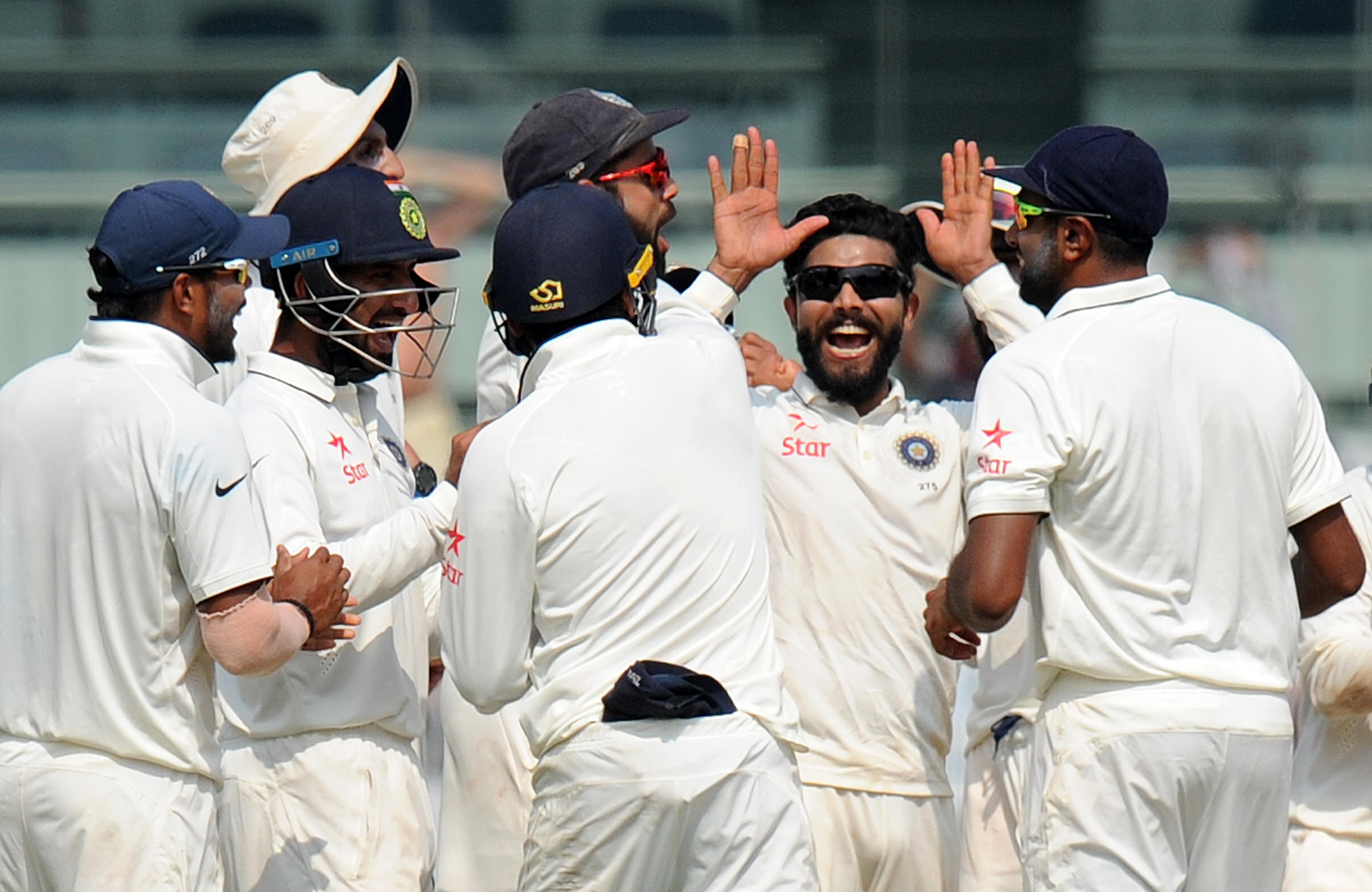 India thumped England during the Test match in Chennai in December 2016