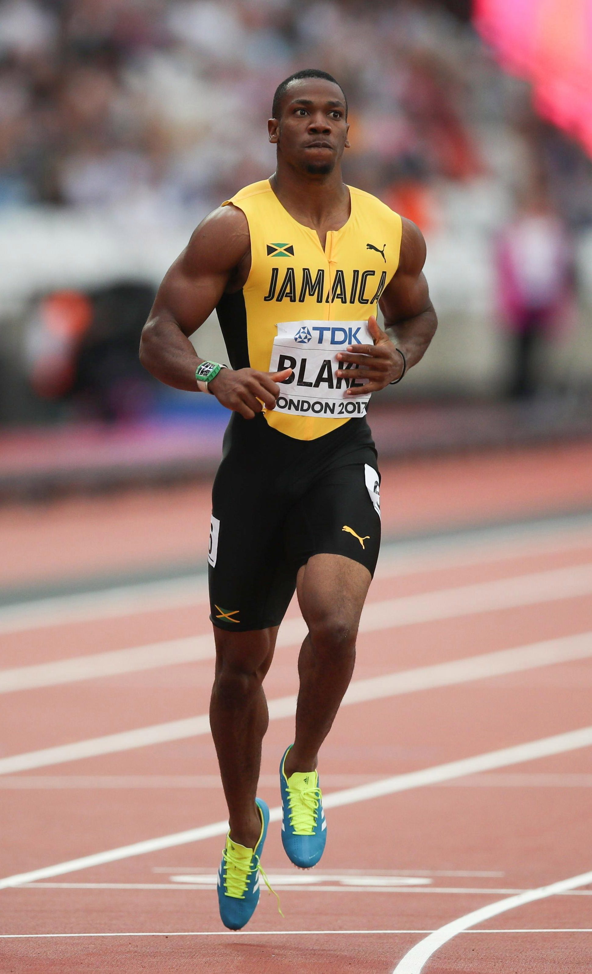 Usain Bolt's fellow Jamaican Yohan Blake could become the top dog