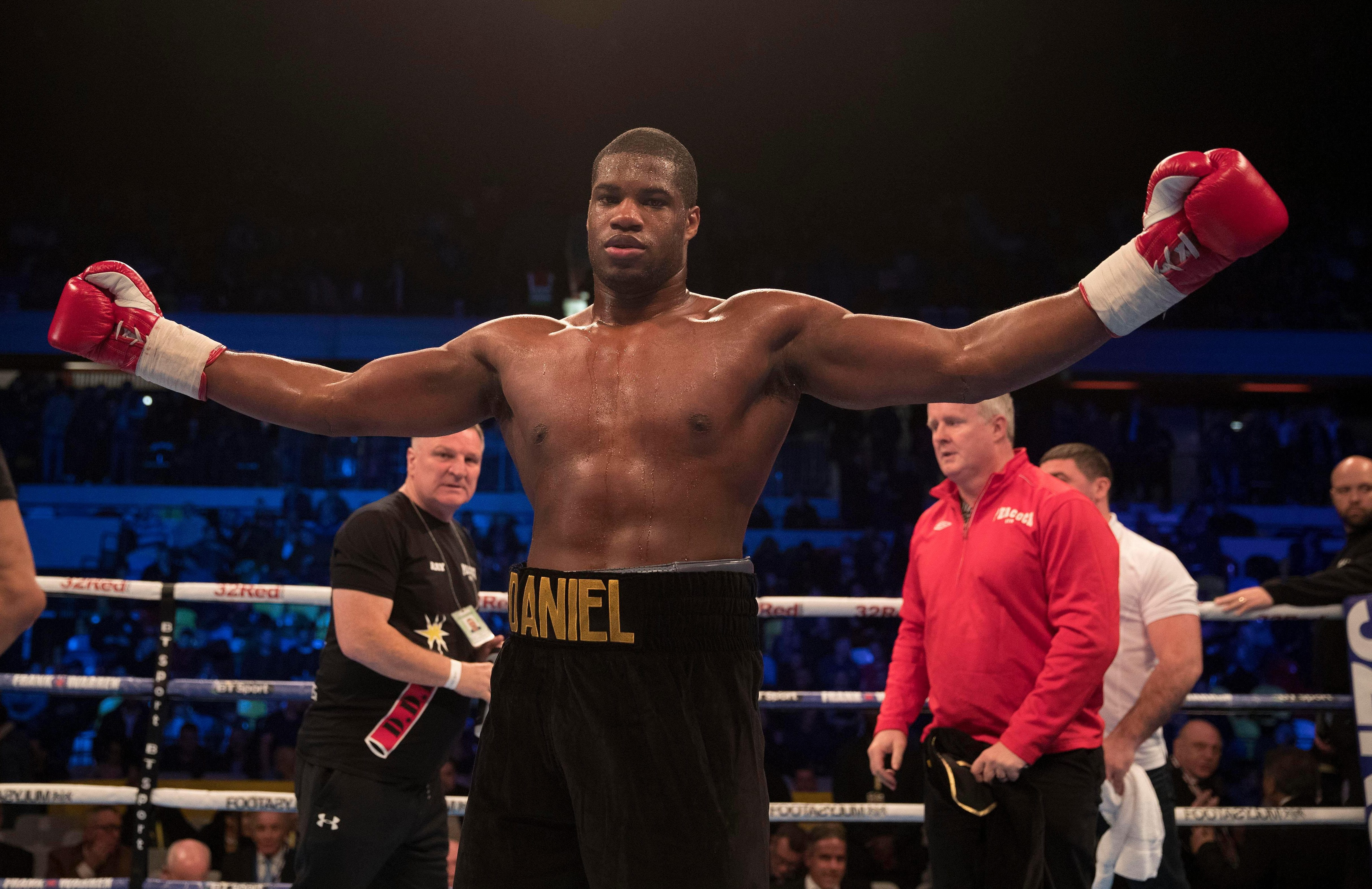 Daniel Dubois has the English heavyweight title and hopes it is the first of many