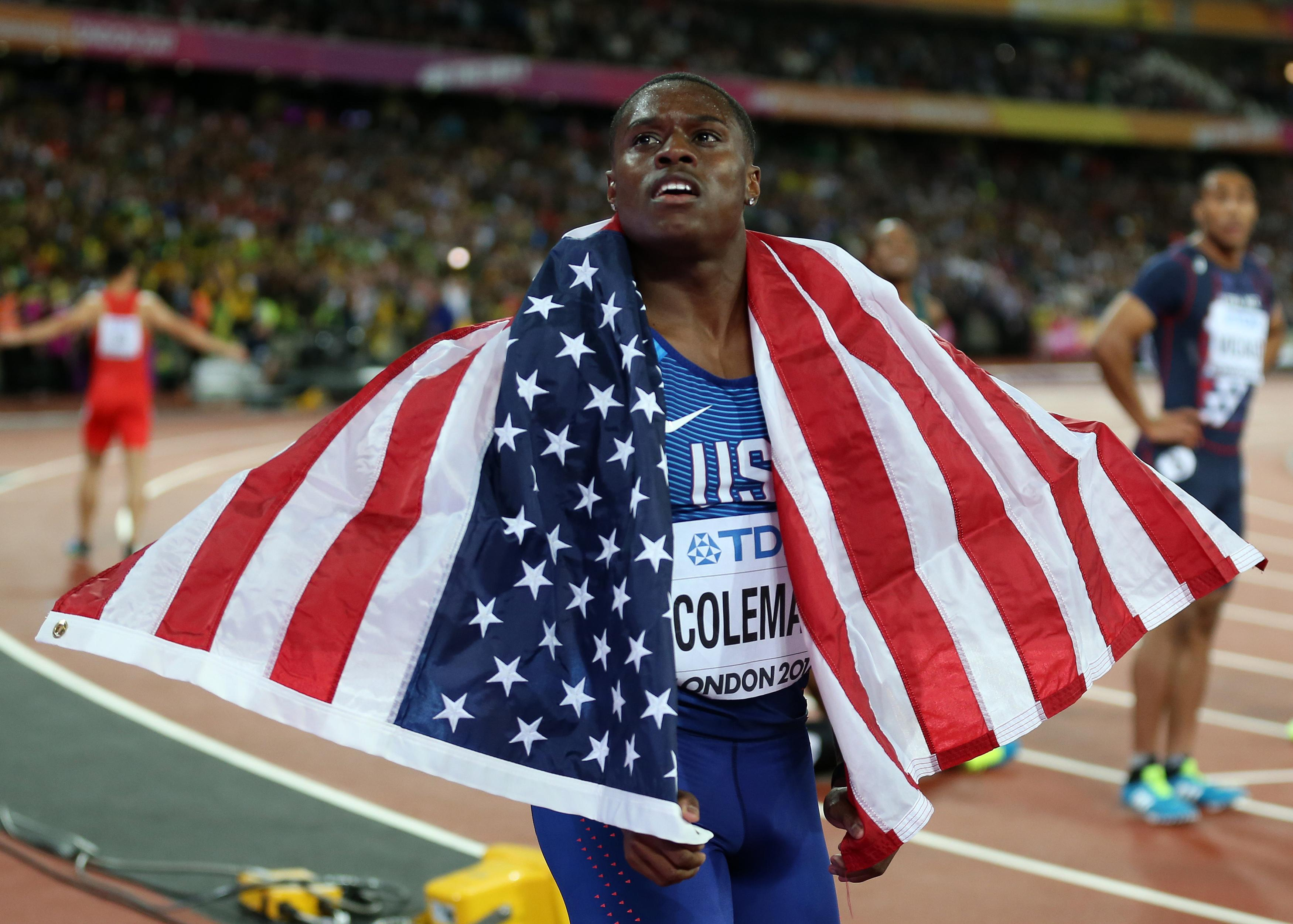 Christian Coleman is arguably the top contender to Usain Bolt's throne