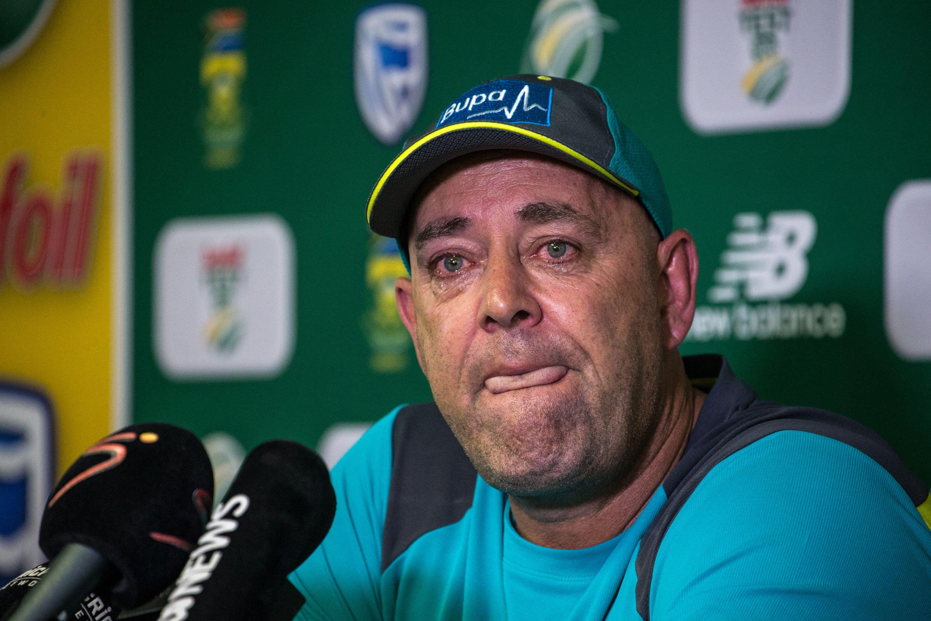 Darren Lehmann quit as Australia head coach in March during a teary press conference