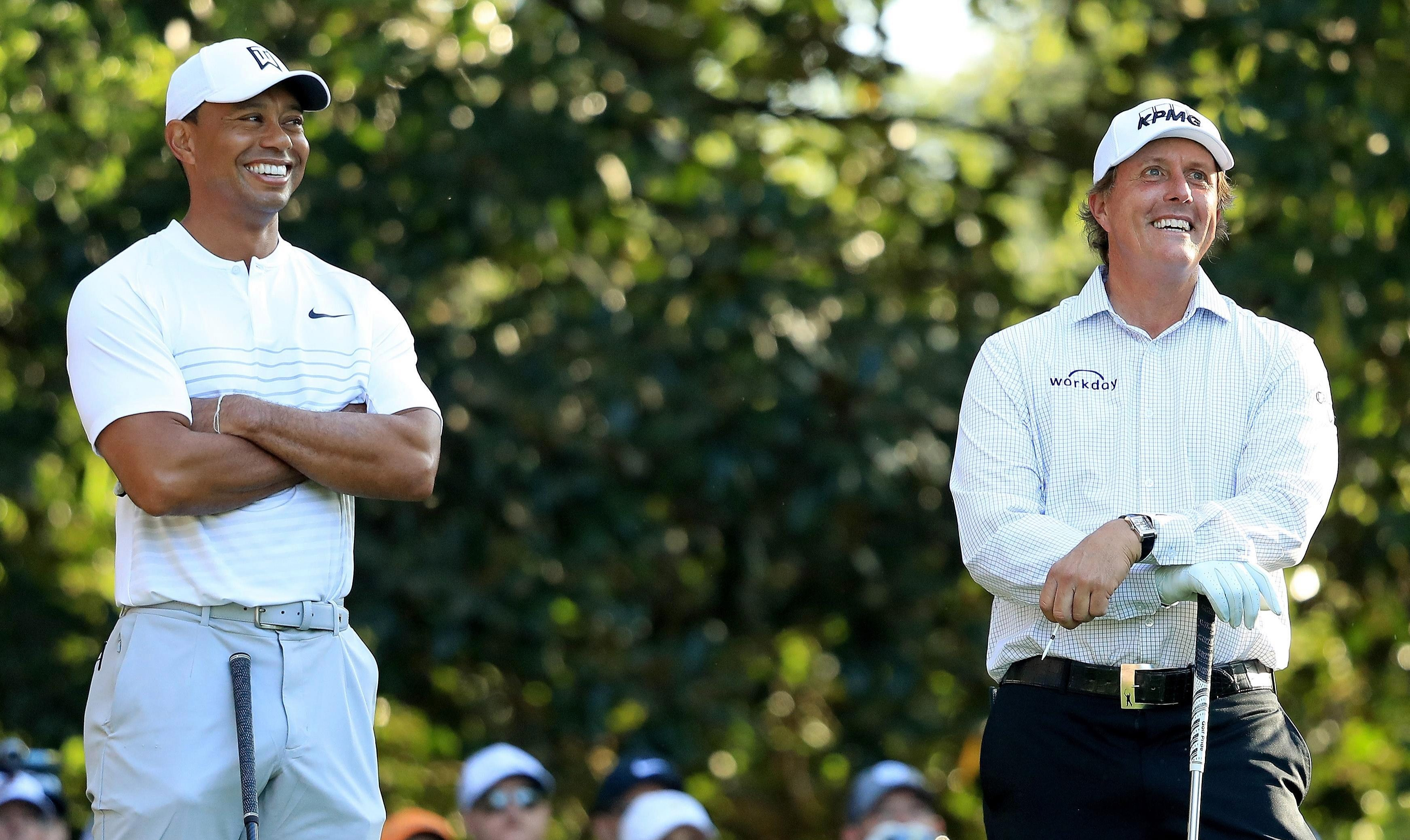 Tiger Woods and Phil Mickelson's frosty relationship has thawed in recent years