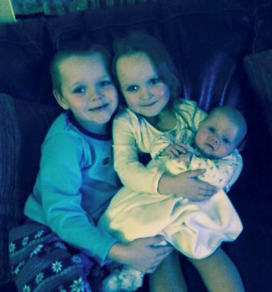 The arson attack took place at the Pearson family home where siblings Brandon, Lia and, Lacie lived