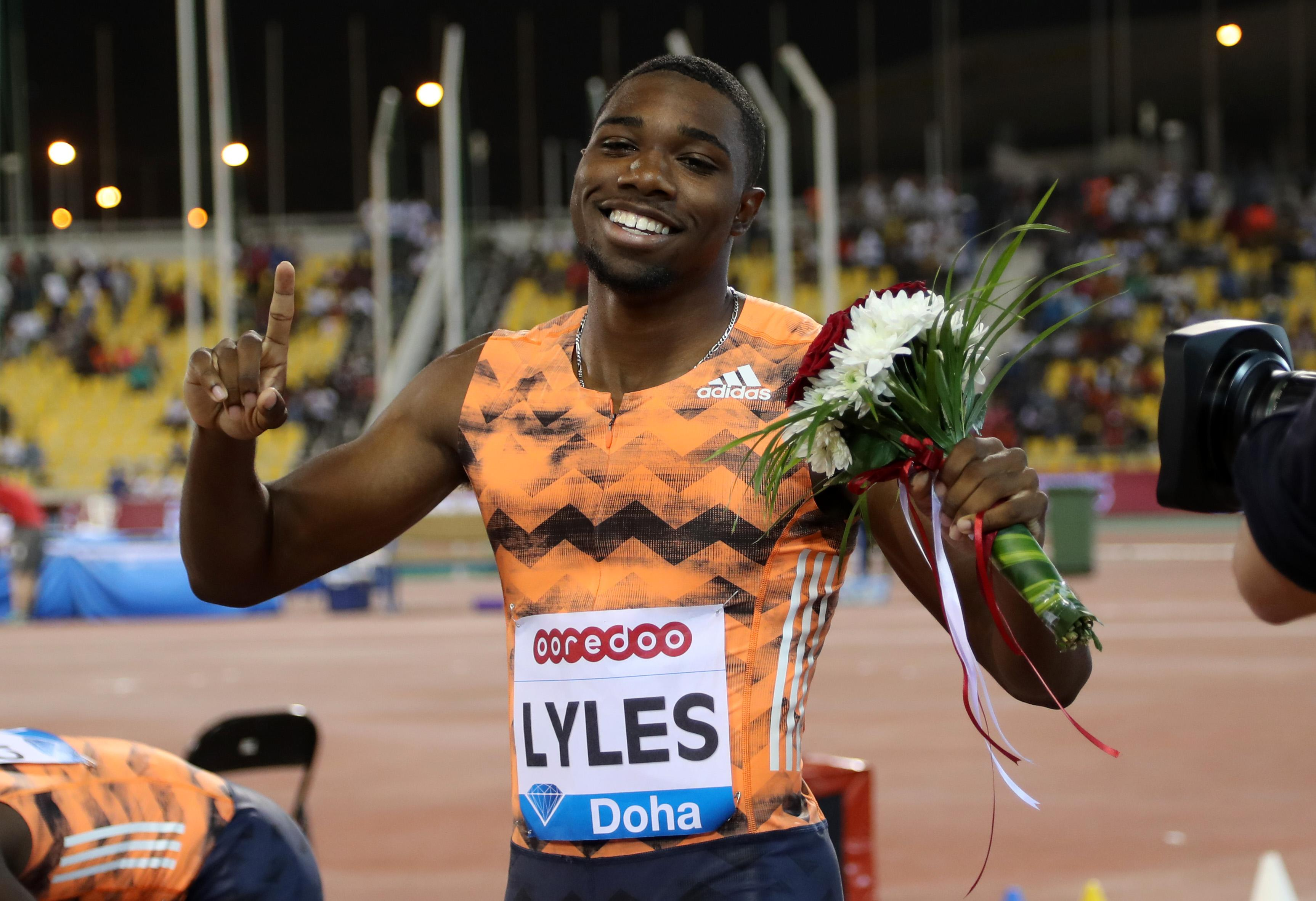 Noah Lyles is another big name in contention to take over from Usain Bolt