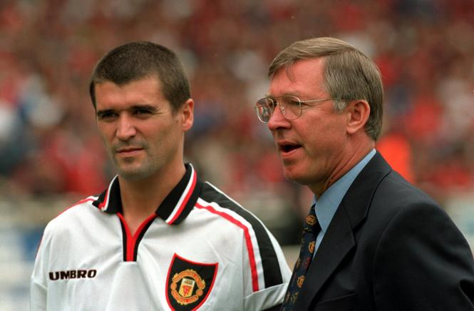 Keane was the enforcer in Sir Alex Ferguson's all-conquering United side