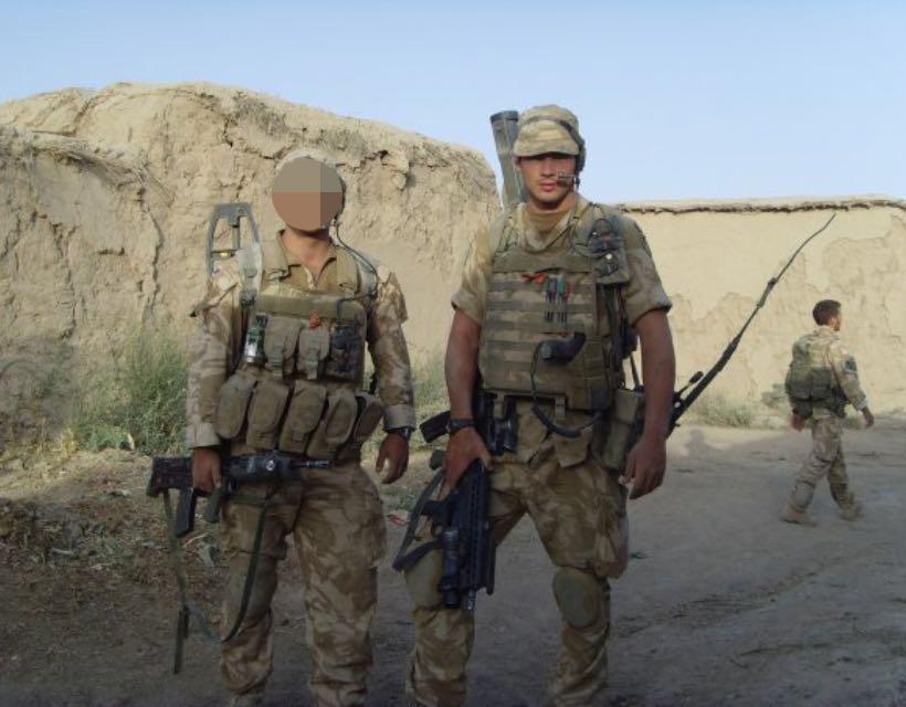 Bellator star Kevin Fryer has been on tours to in Iraq, Afghanistan and Northern Ireland