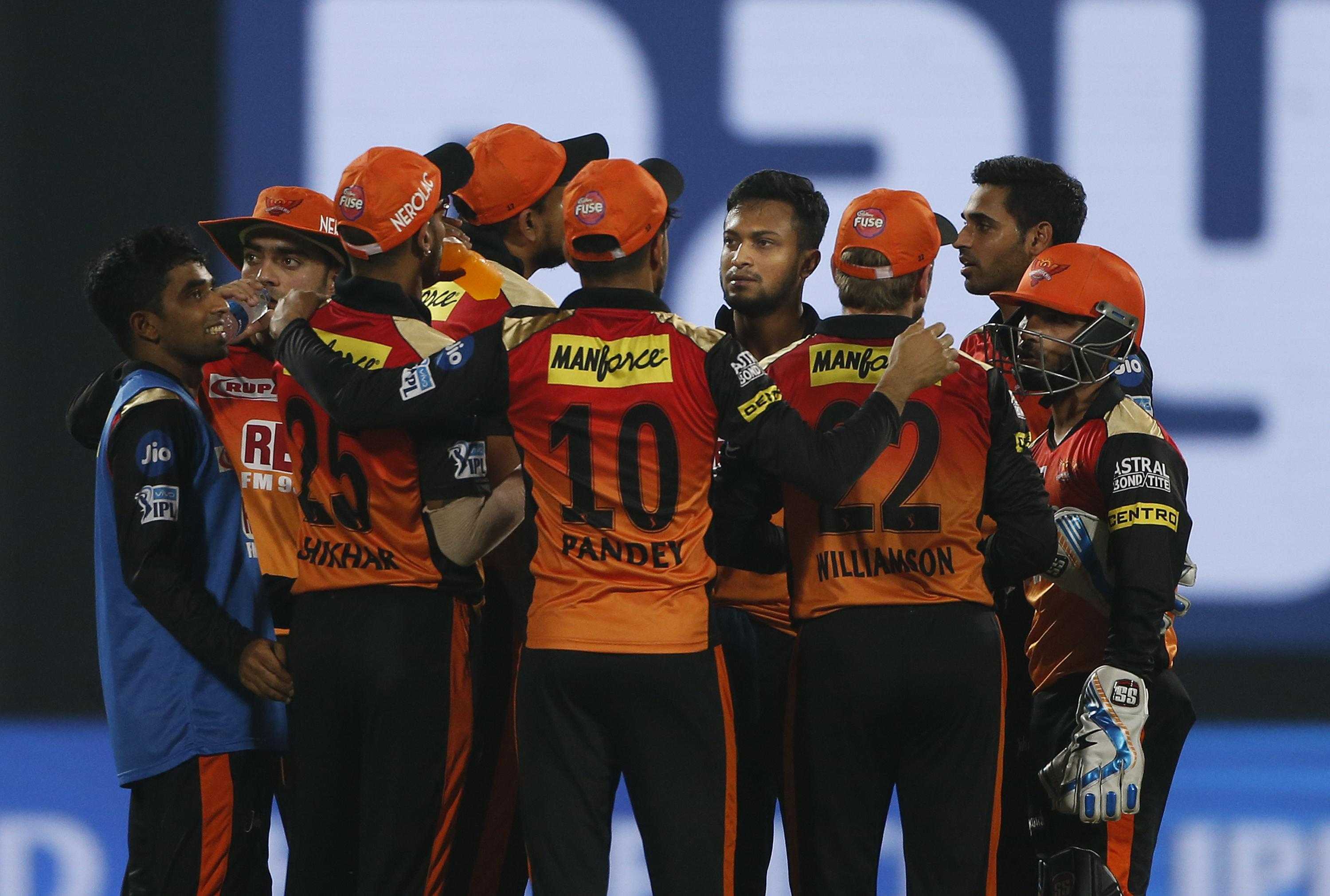 Sunrisers Hyderabad take on Chennai Super Kings after finishing top of the IPL points table