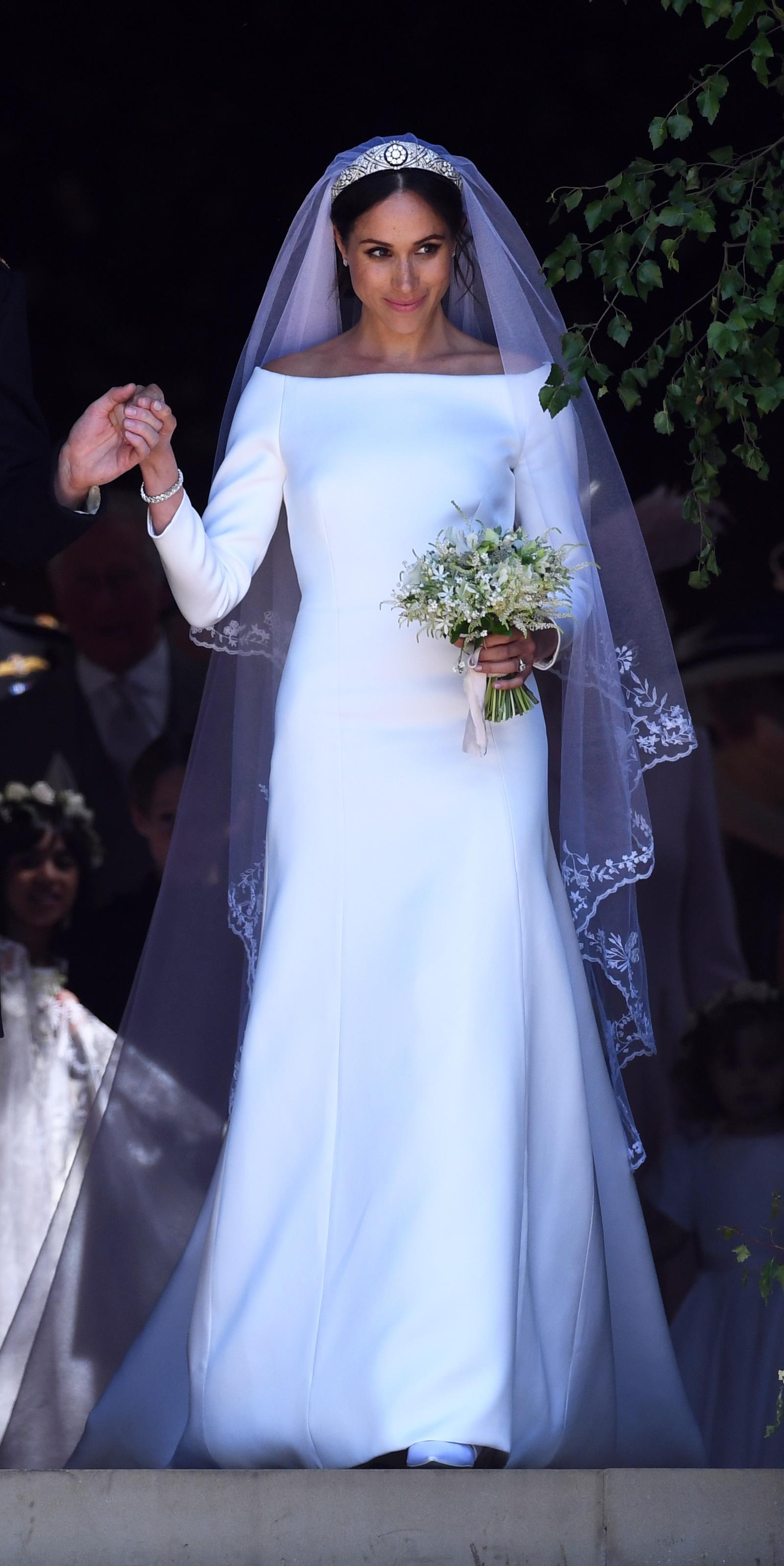 Meghan Markle Dress Wedding 7