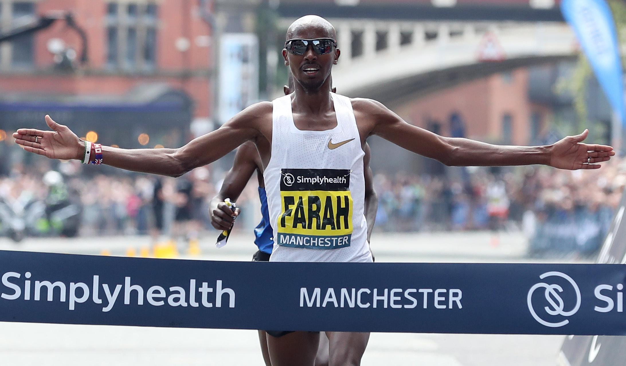 Callum Hawkins will face Olympic legend Mo Farah