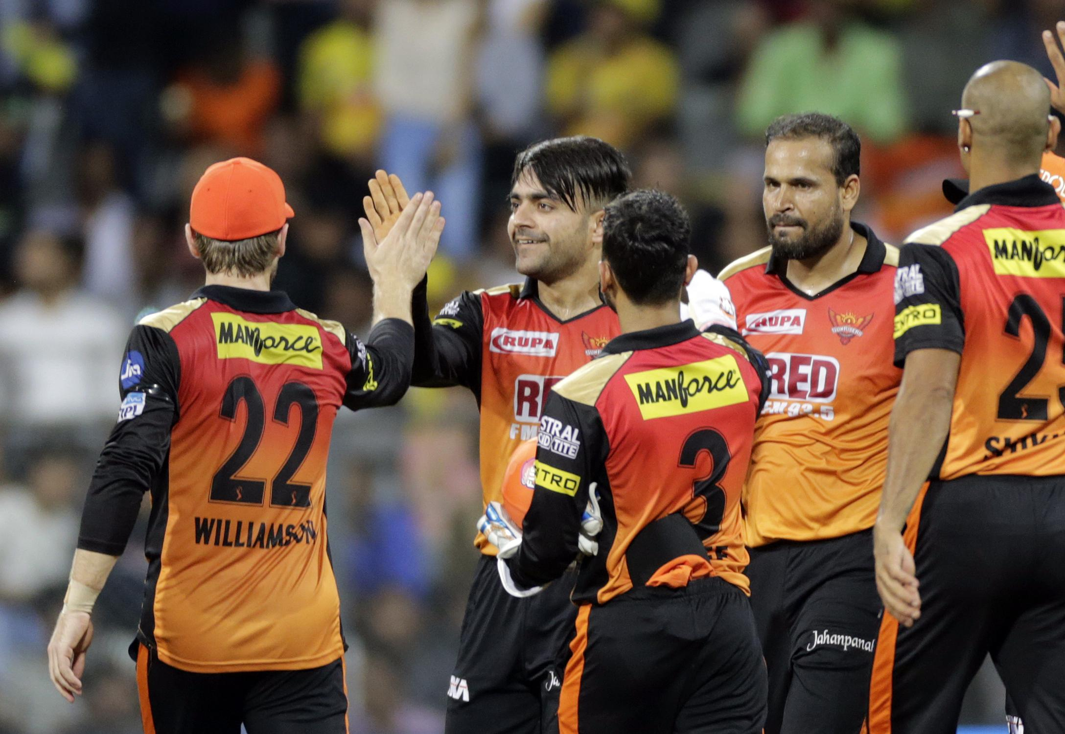 Sunrisers Hyderabad hope to take on Chennai Super Kings in the IPL final