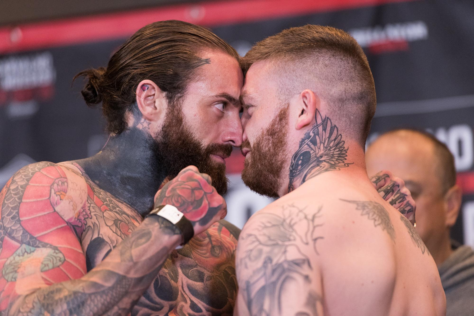 Aaron Chalmers will be fighting against Ash Griffiths tonight