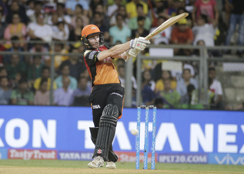 Kane Williamson hit 47 runs off 36 balls for the Sunrisers Hyderabad