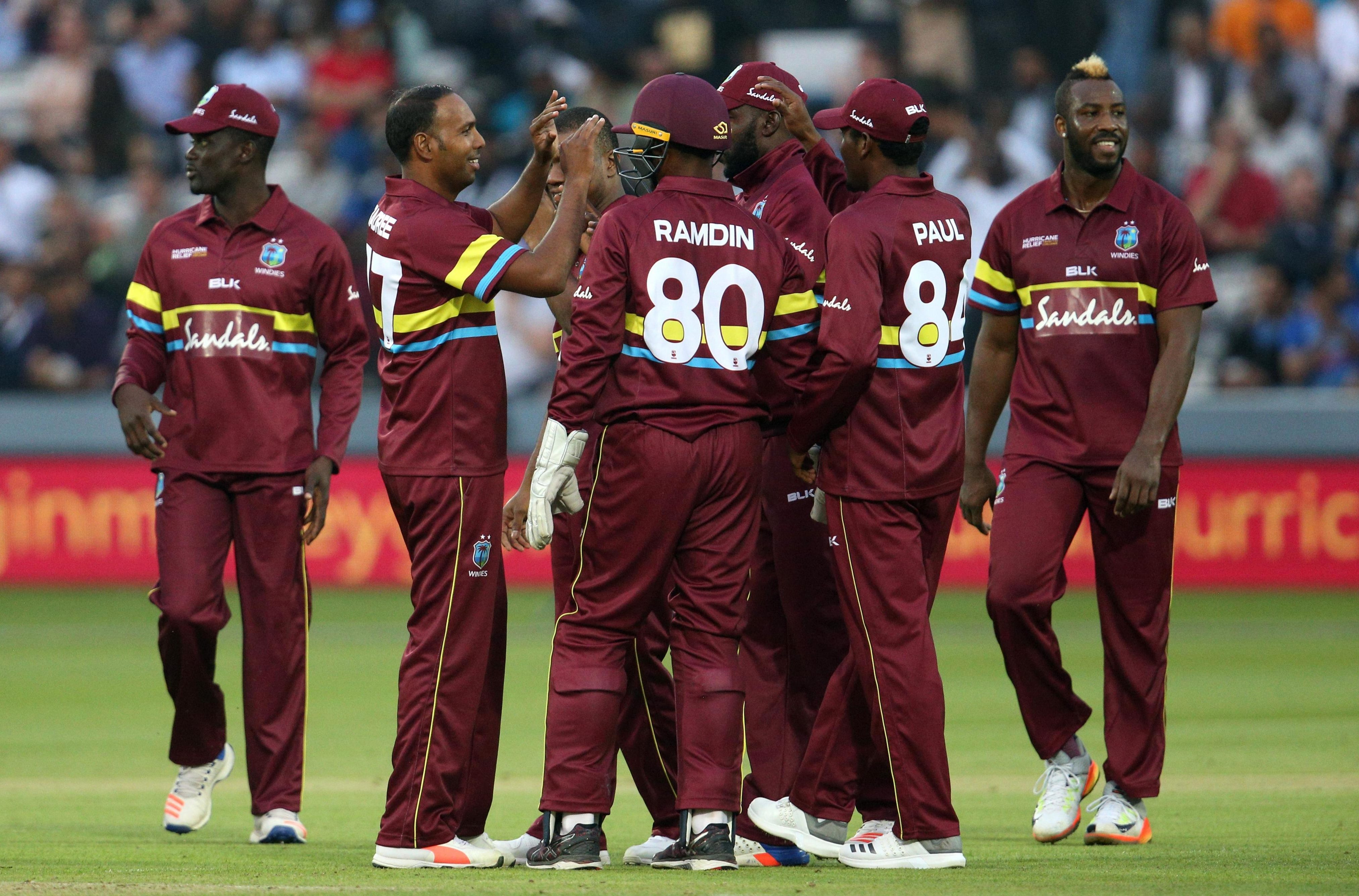 West Indies celebrated a dominant victory at Lord's on Thursday