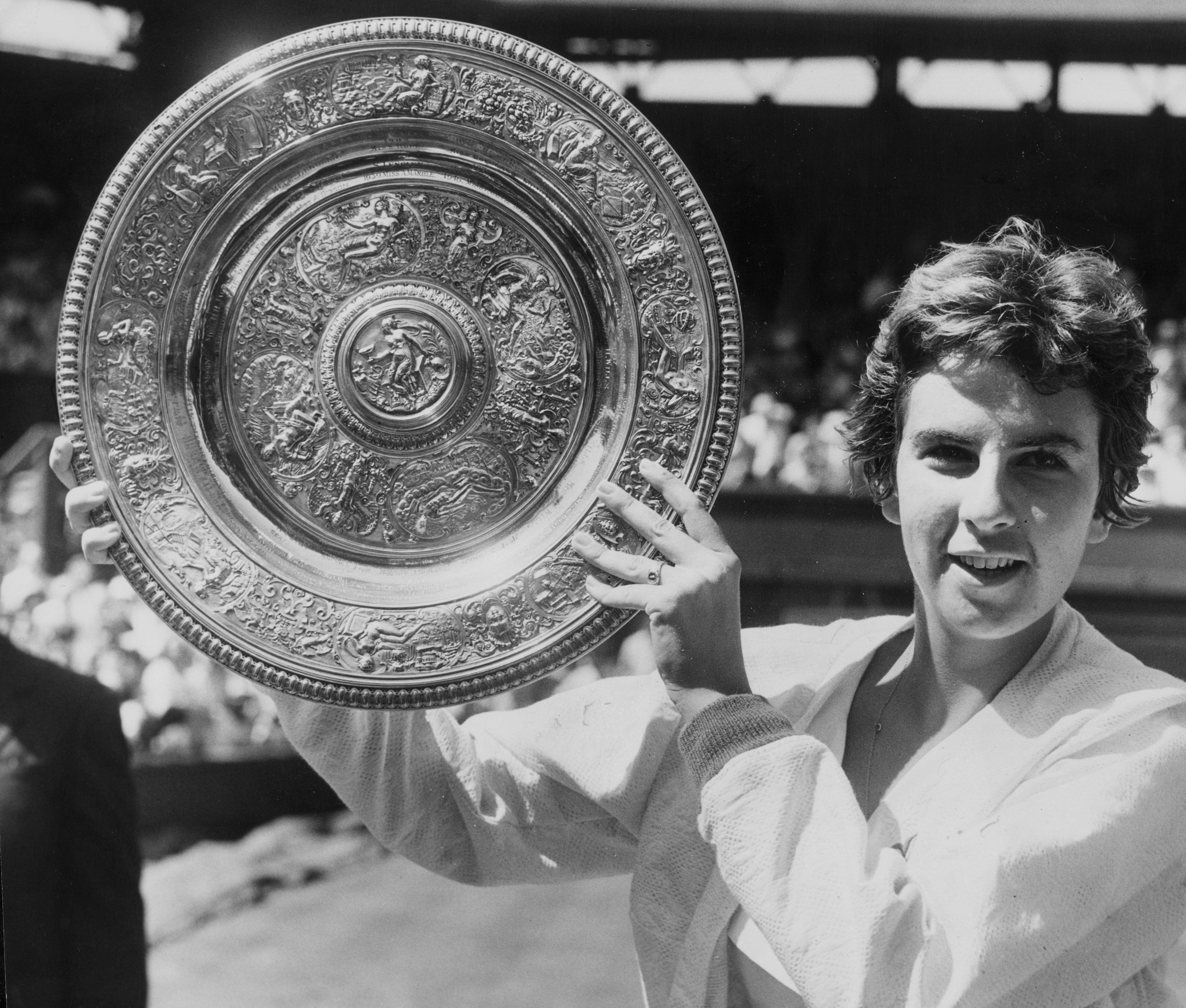 Maria Bueno won the Wimbledon singles titles during her brilliant career