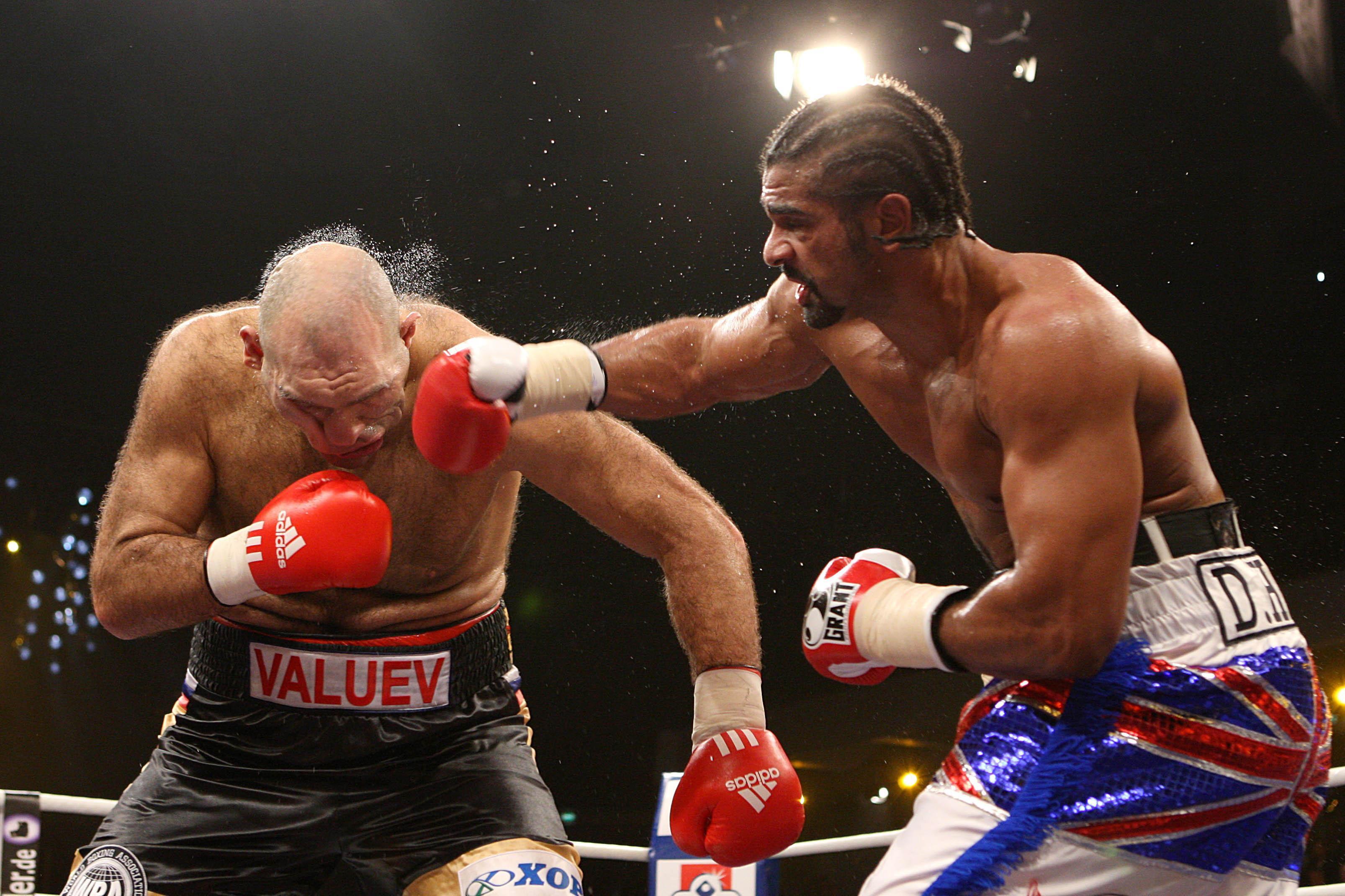 Haye beat Nikolay Valuev in Nuremberg in 2009 to become WBA heavyweight champion of the world