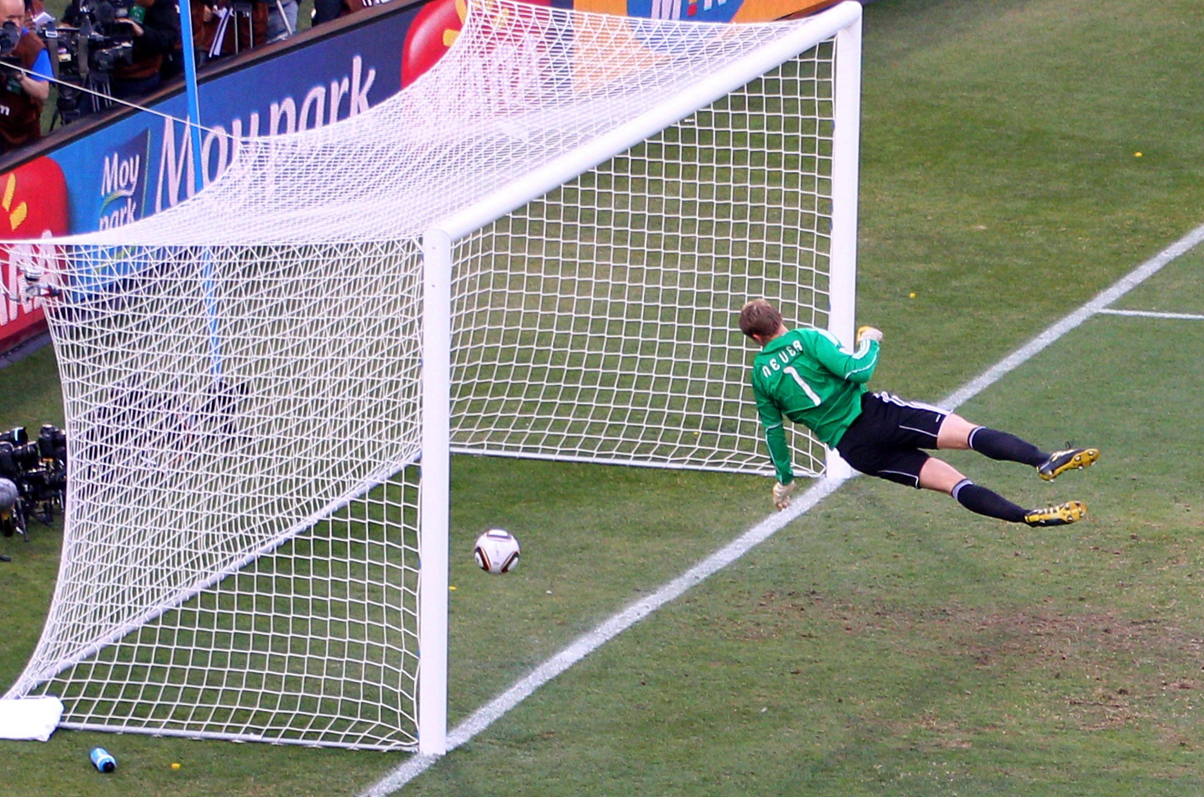 Frank Lampard's effort was clearly over the goal line - but a lack of technology meant no goal was given