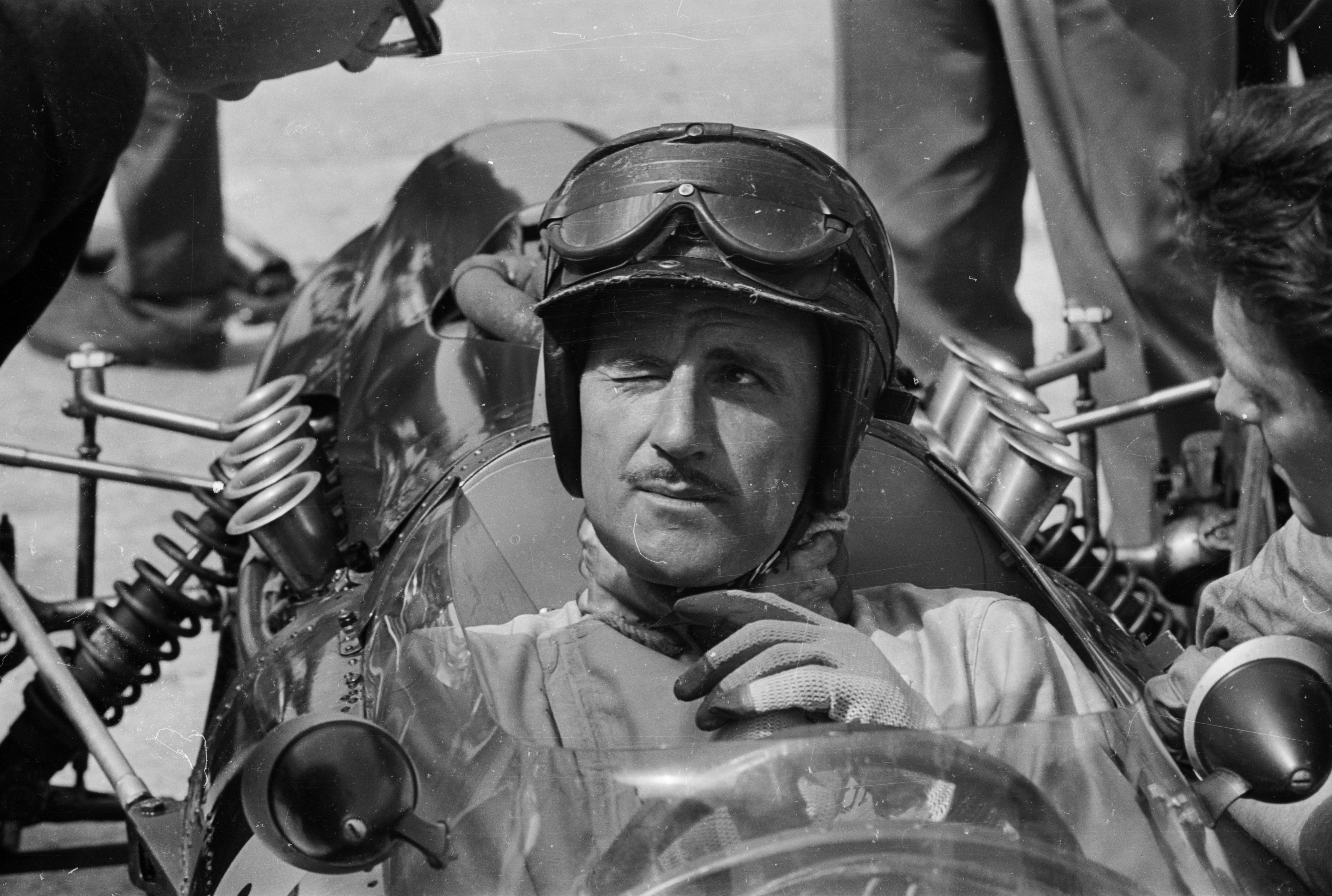 Graham Hill won Monaco GP, Le Mans 24 hours race and Indy 500