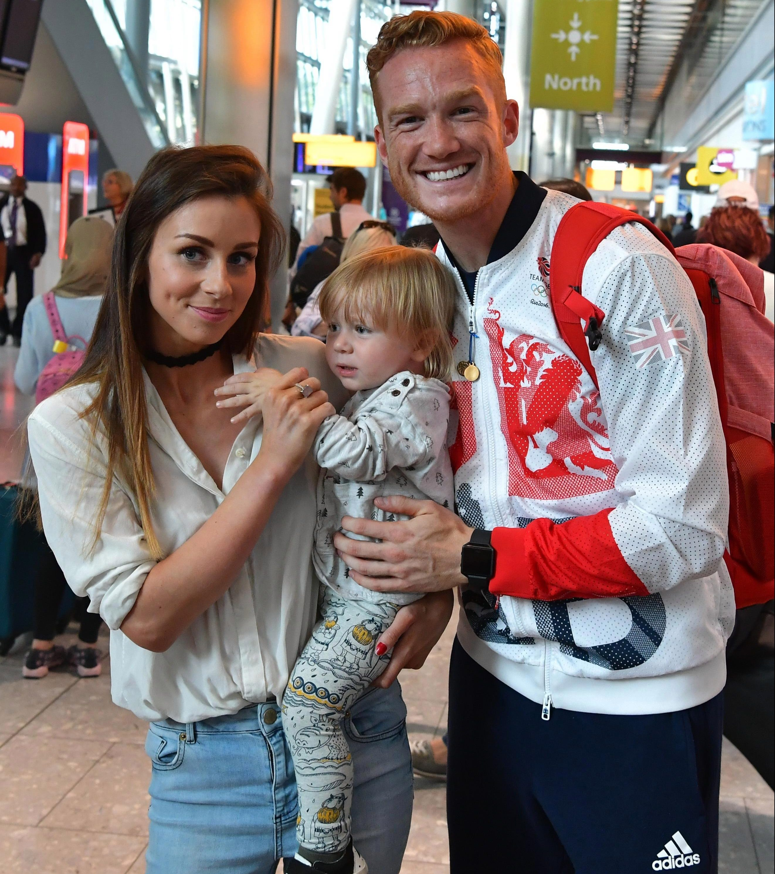 Greg Rutherford has been in such pain at times that he cannot even play with his children
