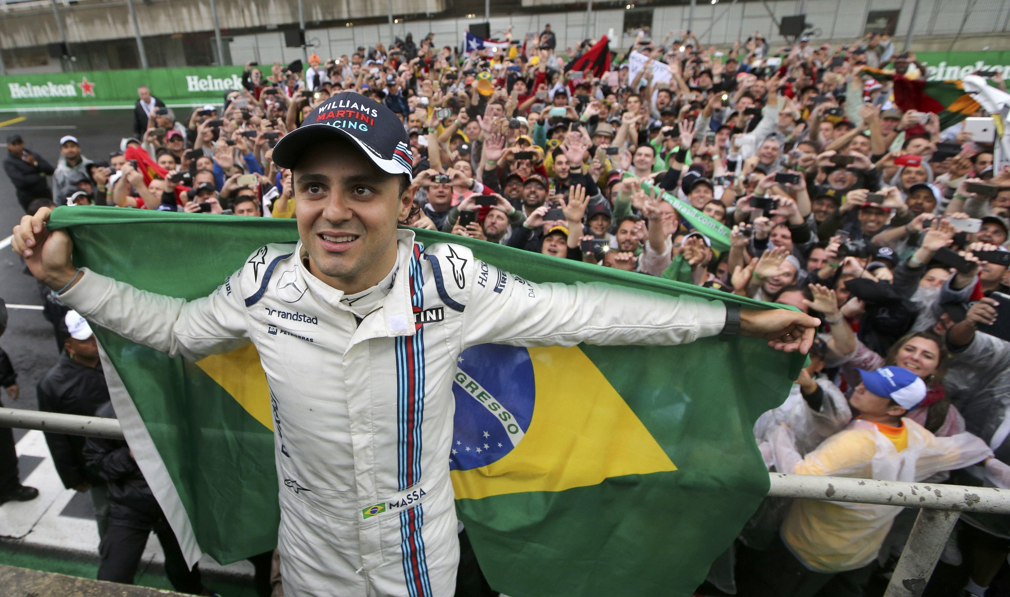 The Brazilian enjoyed five podium finishes as a Williams driver
