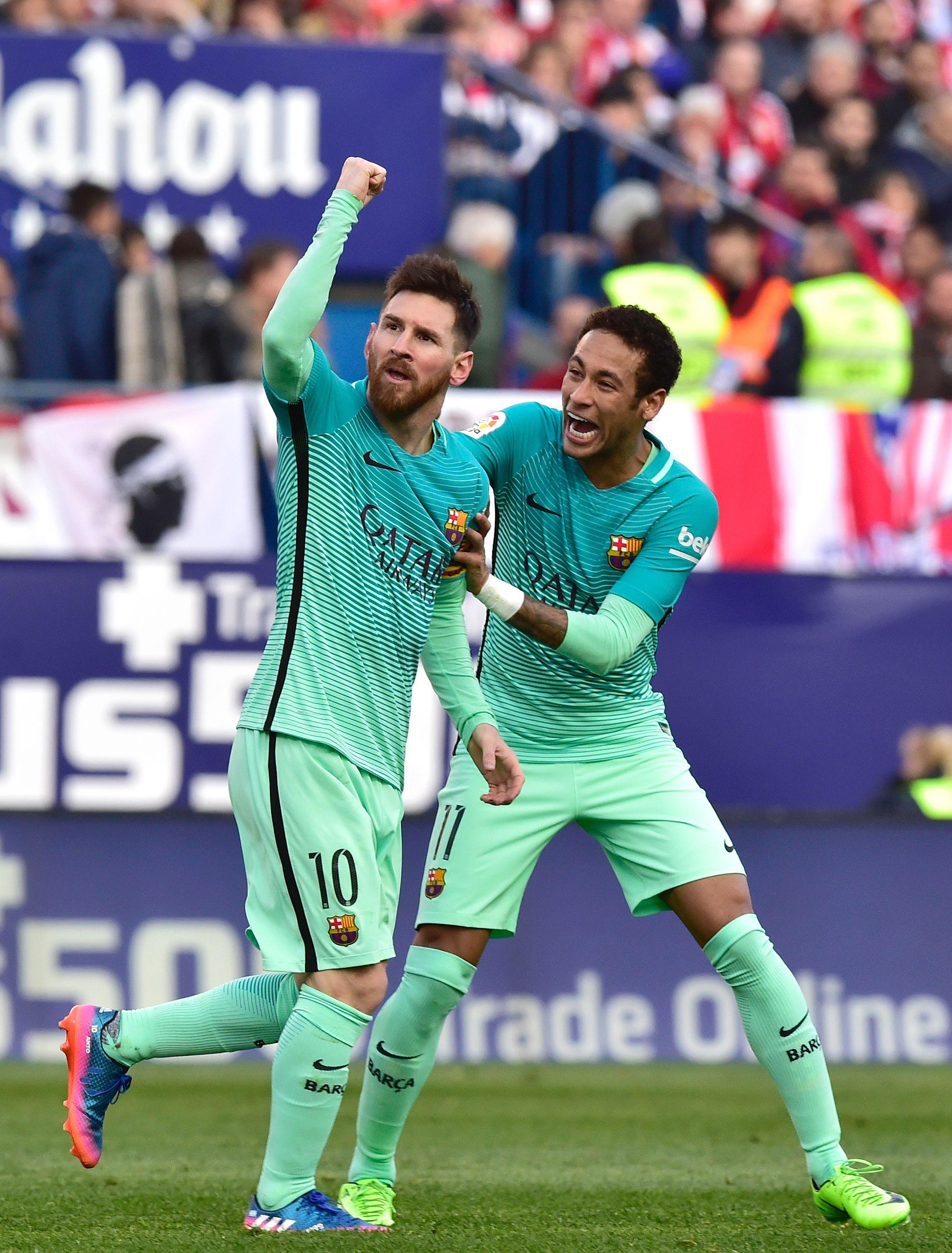 Neymar and Lionel Messi created unforgettable strike partnership