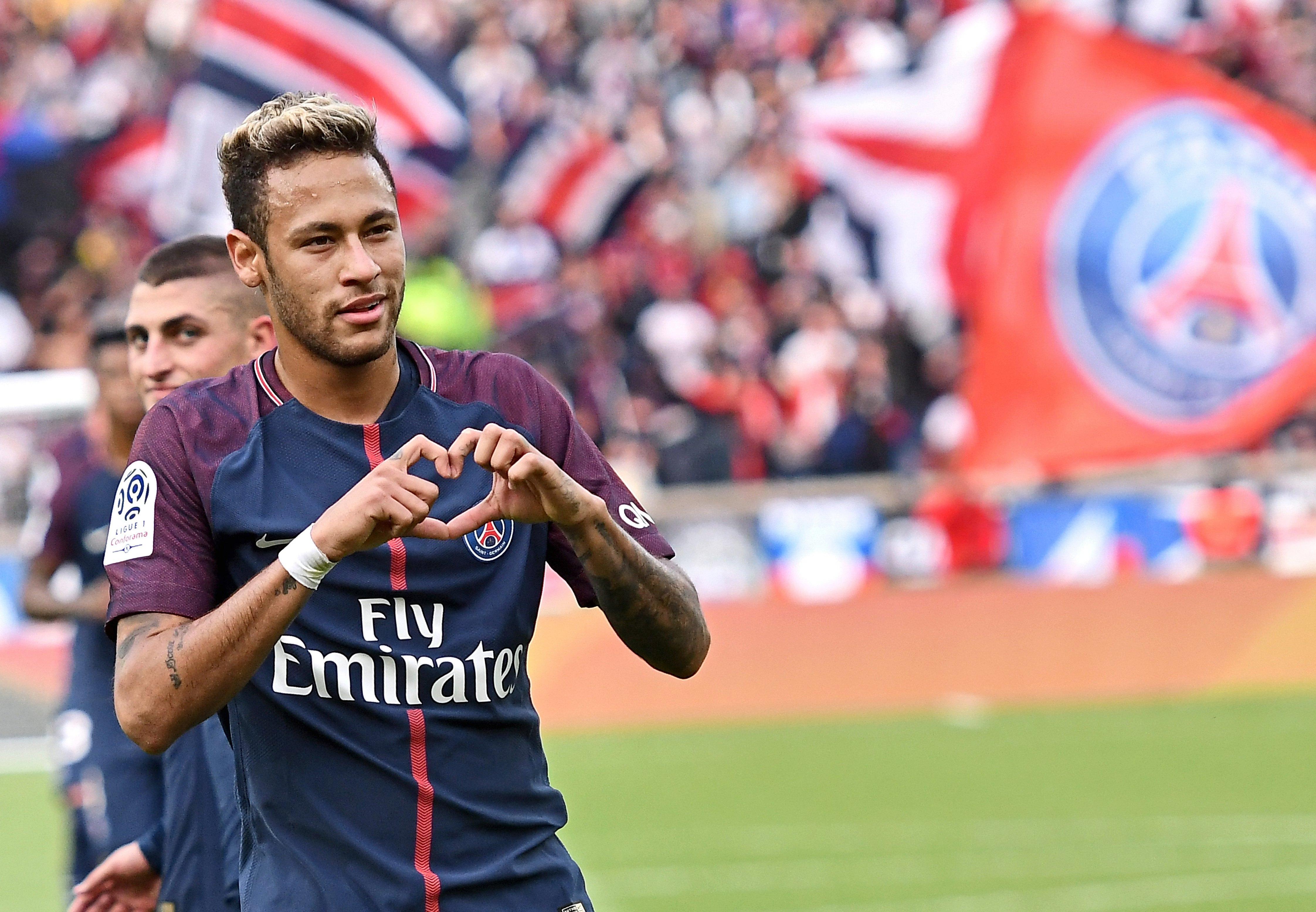 Neymar left Barcelona to join PSG in world-record £198m transfer