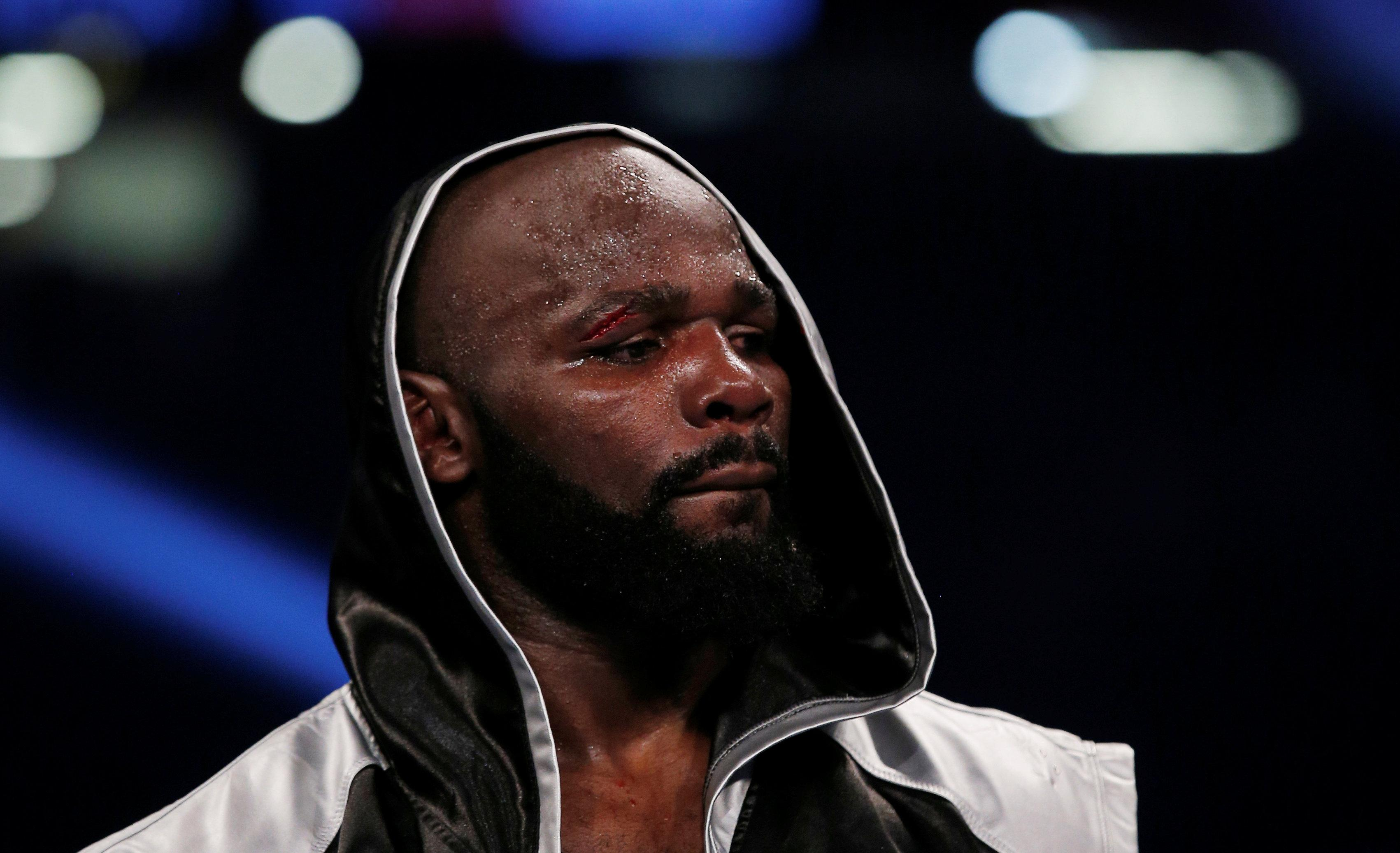 Carlos Takam hasn't fought since his defeat to Anthony Joshua in October