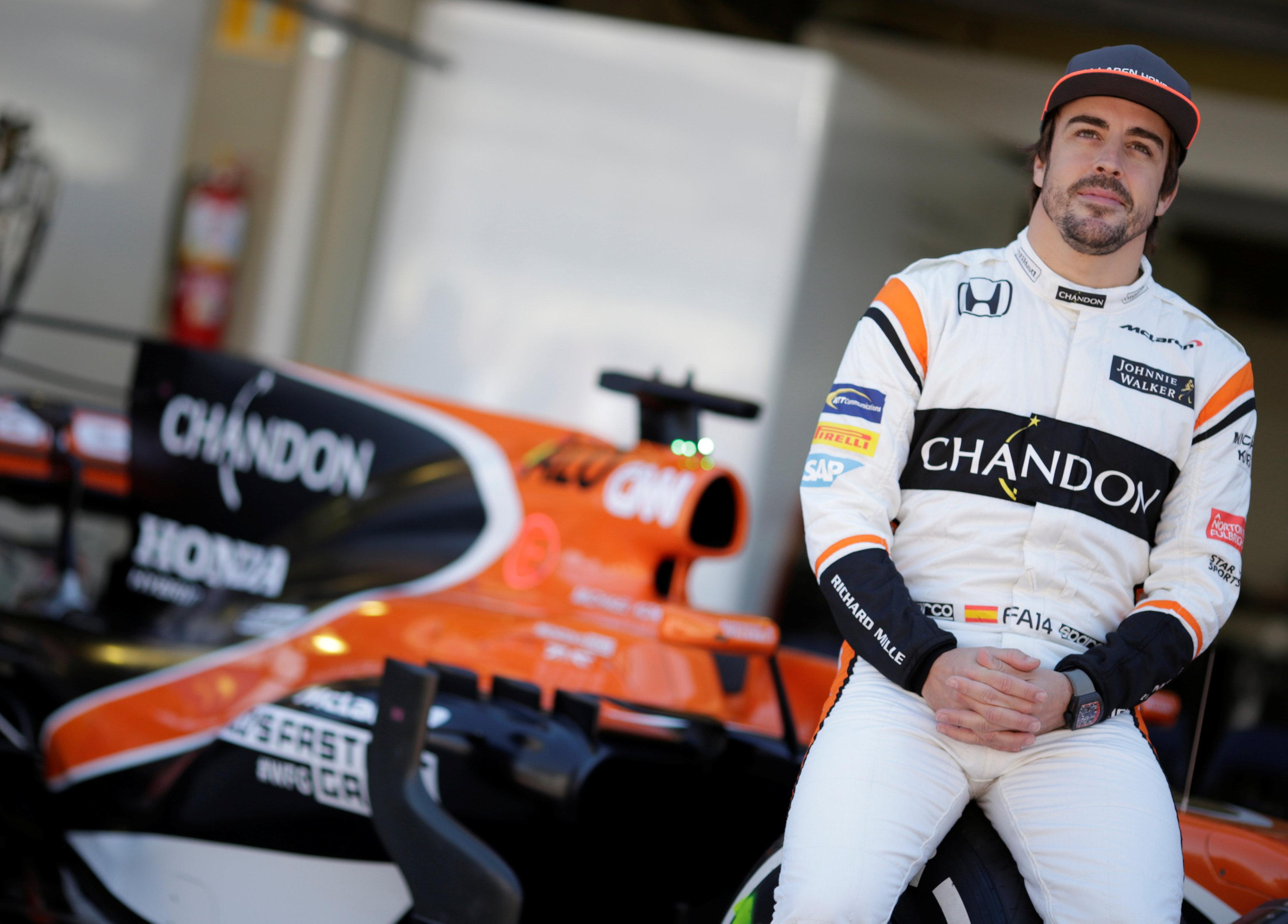 Fernando Alonso has been linked with a Formula One exit