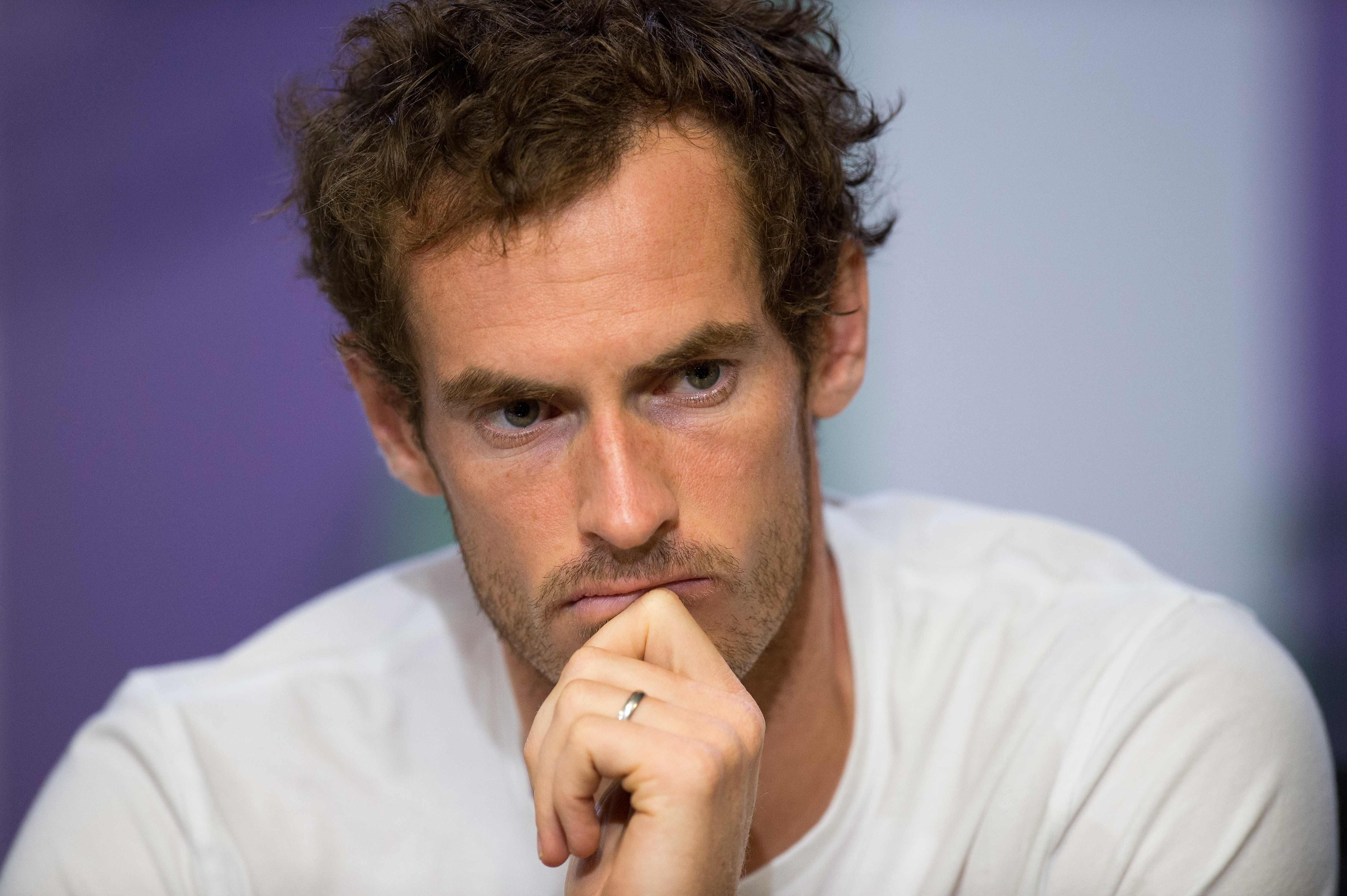 Andy Murray is struggling to be fit for this summer's Wimbledon