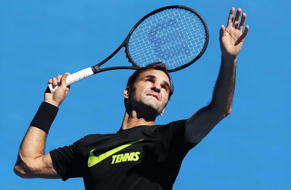 Roger Federer's contract with Nike reportedly expired on March 1st