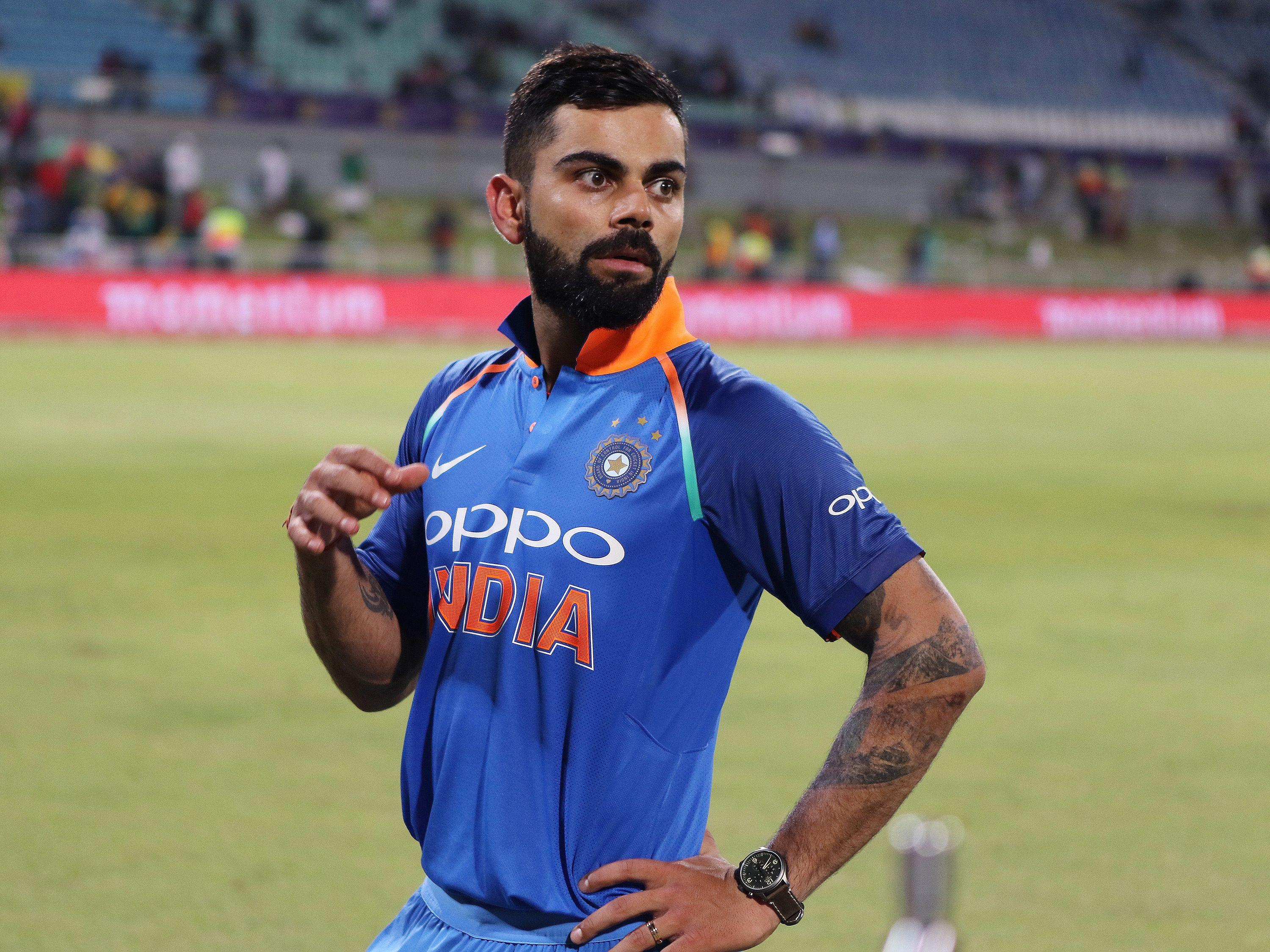 Virat Kohli's India side face Ireland in two T20s this week