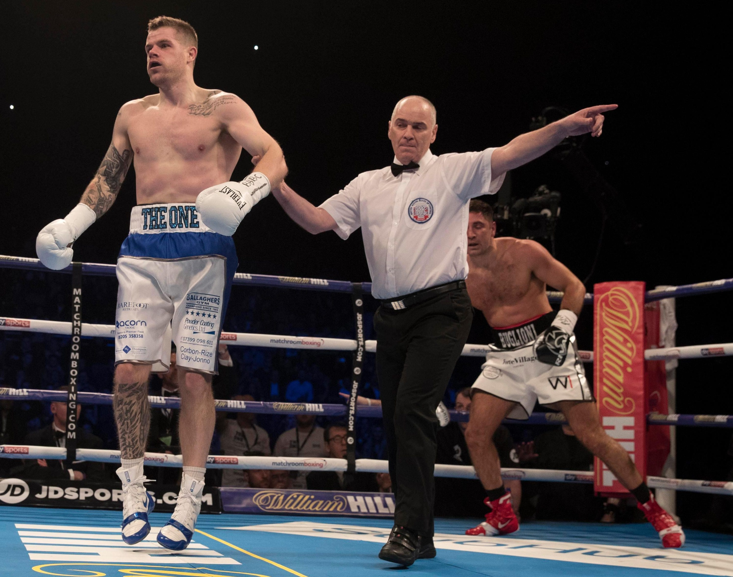 Callum Johnson showed his KO power when he stunned Frank Buglioni last time out in the very first round