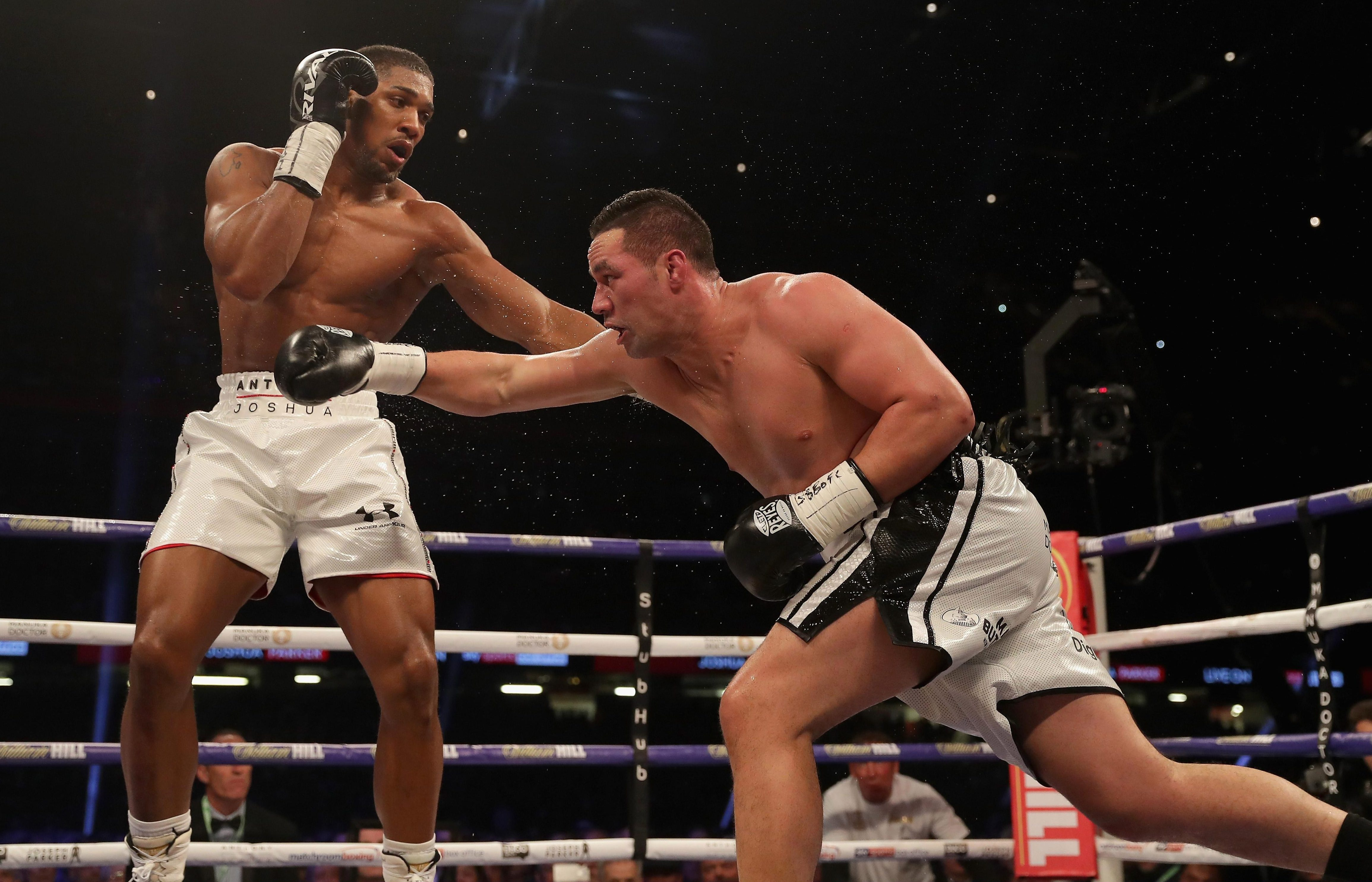 Anthony Joshua beat Joseph Parker at the Principality Stadium in Cardiff in his last fight