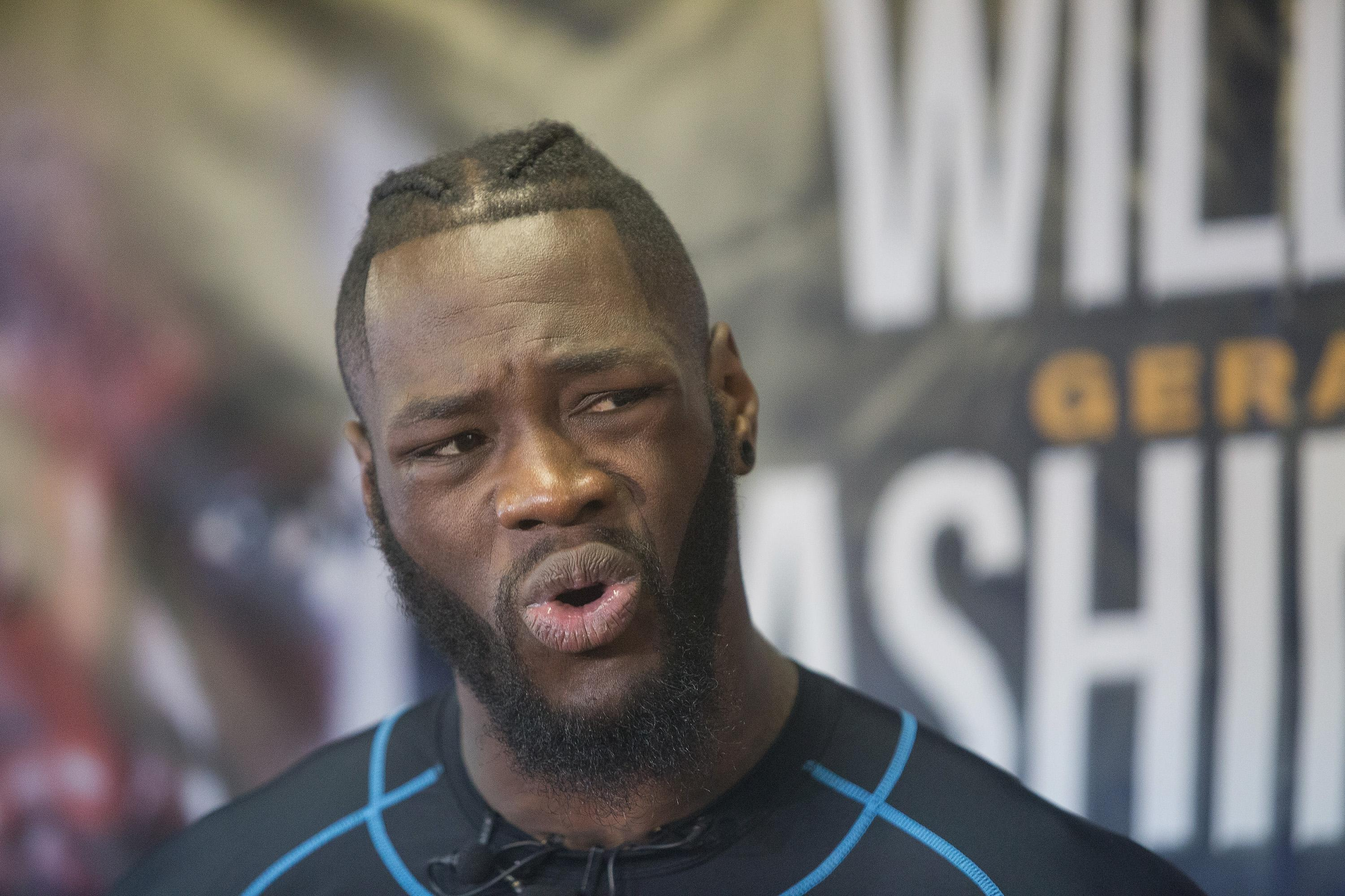 Deontay Wilder took to Twitter to share his thoughts after talks of a unification fight broke down