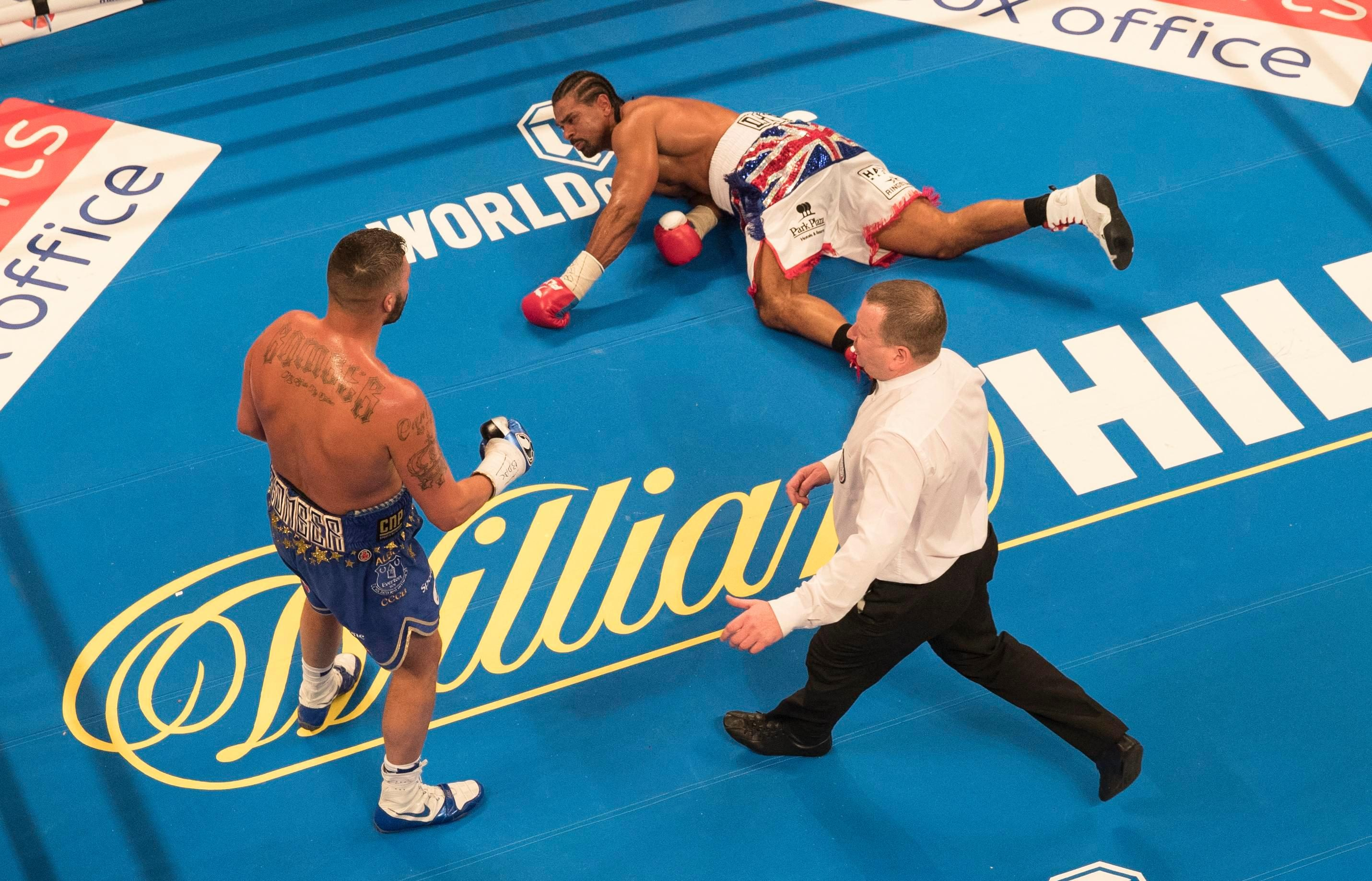 Haye landed only 42 punches to Bellew's 70 during their rematch in May