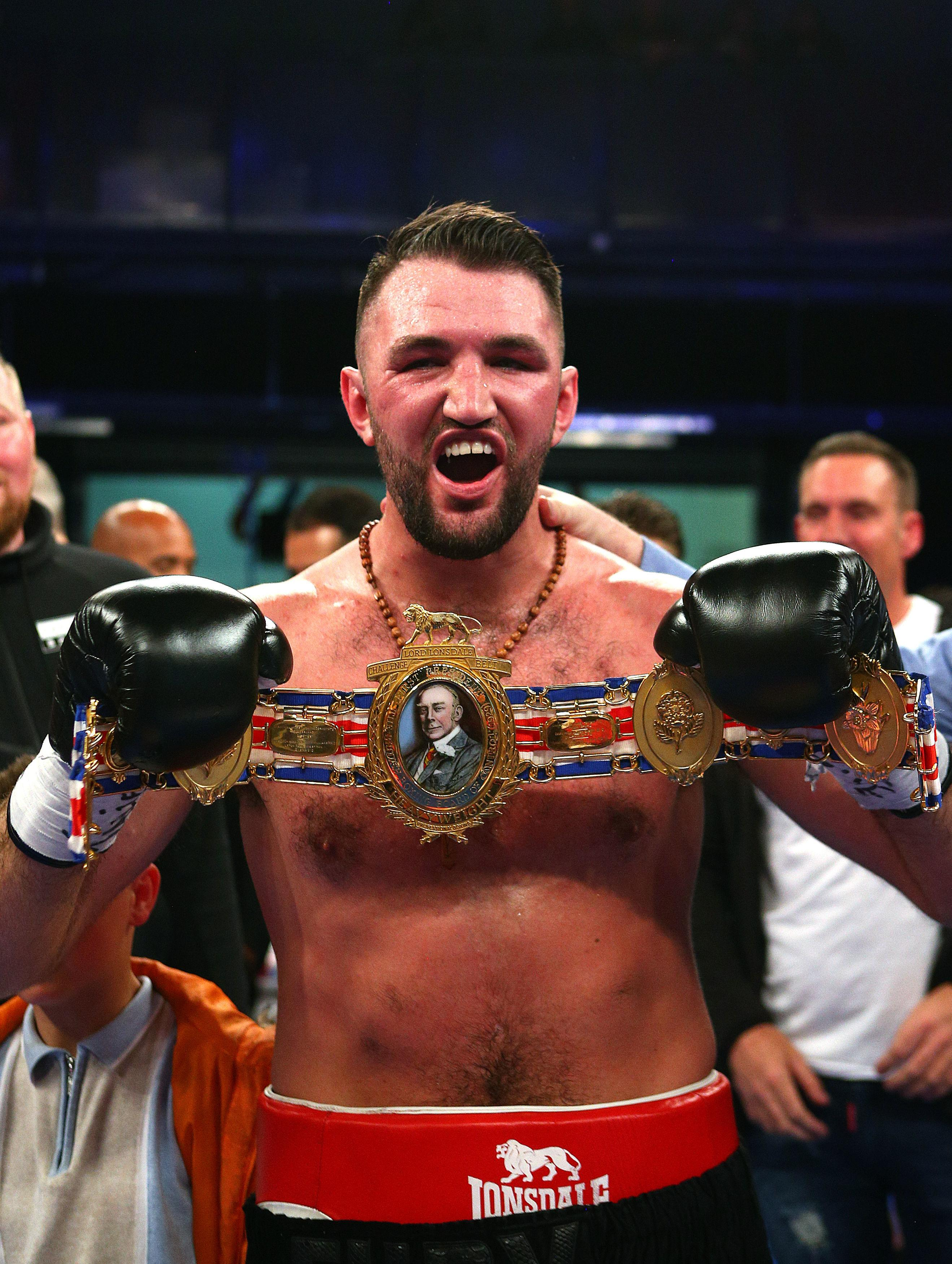 Hughie Fury is the current British heavyweight champ - but he sees himself as a world level fighter