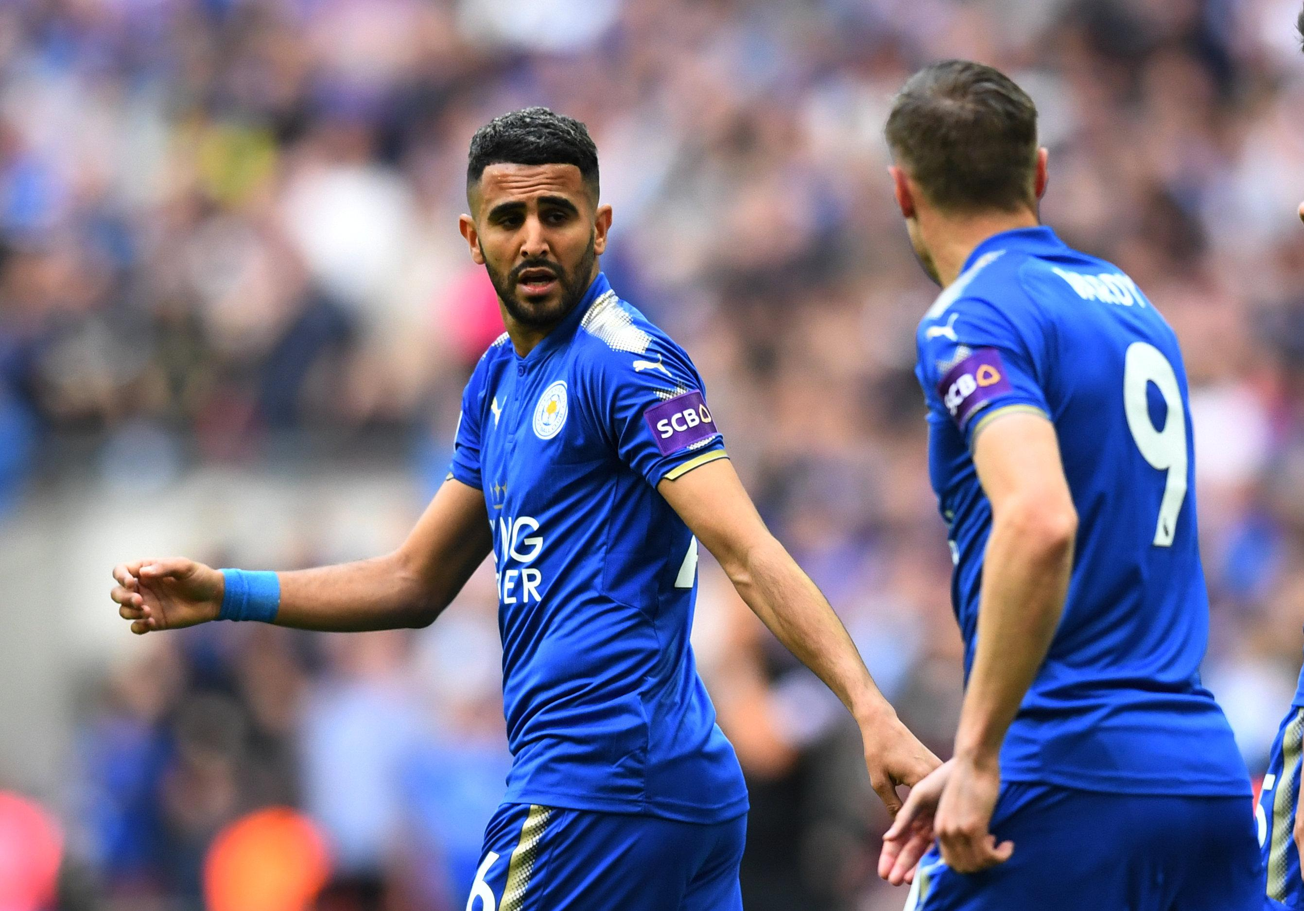 City remain keen on signing Leicester star Riyad Mahrez