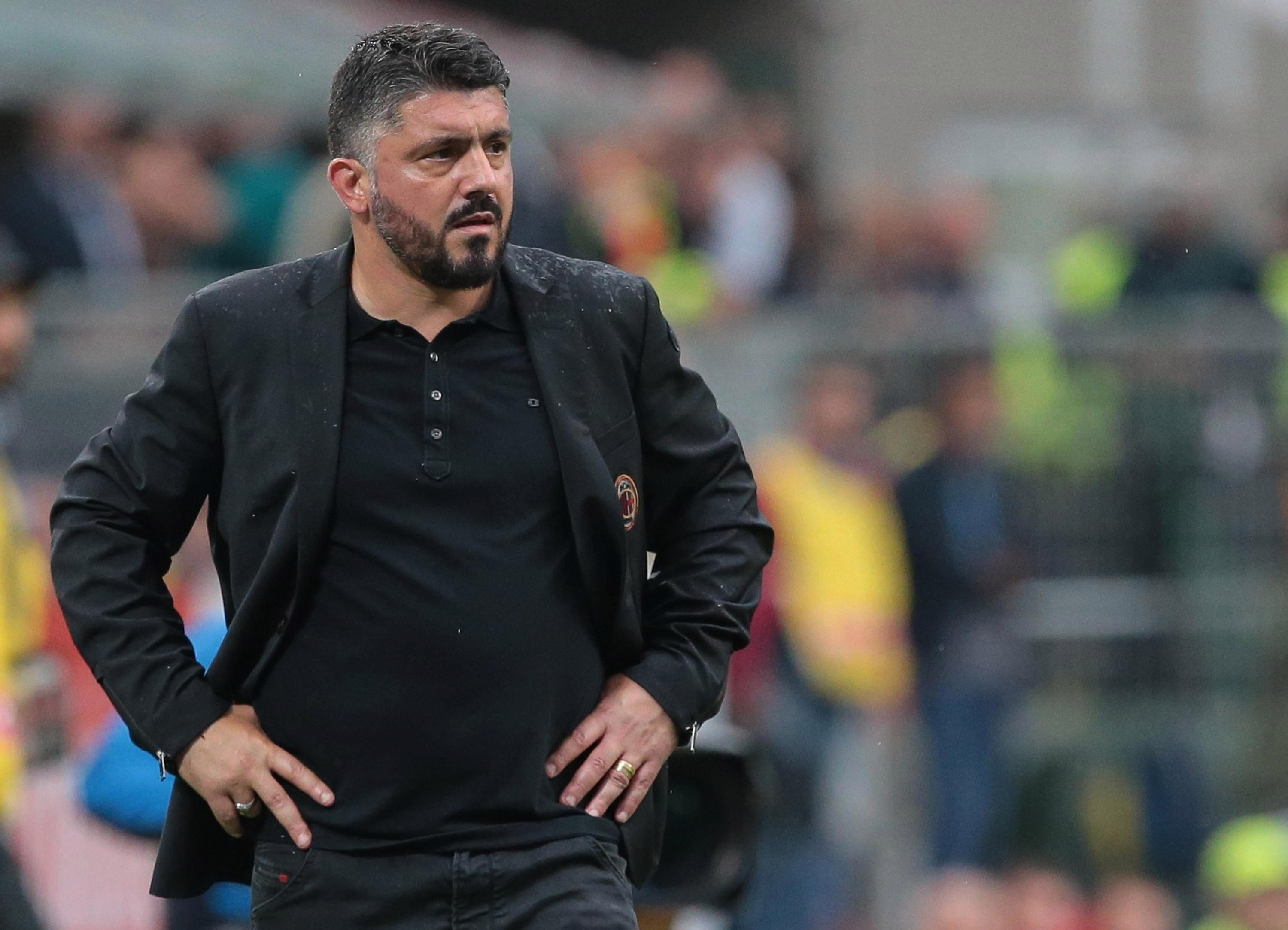 AC Milan Gennaro Gattuso recently signed a new deal but will not be managing in a European competition with them next season