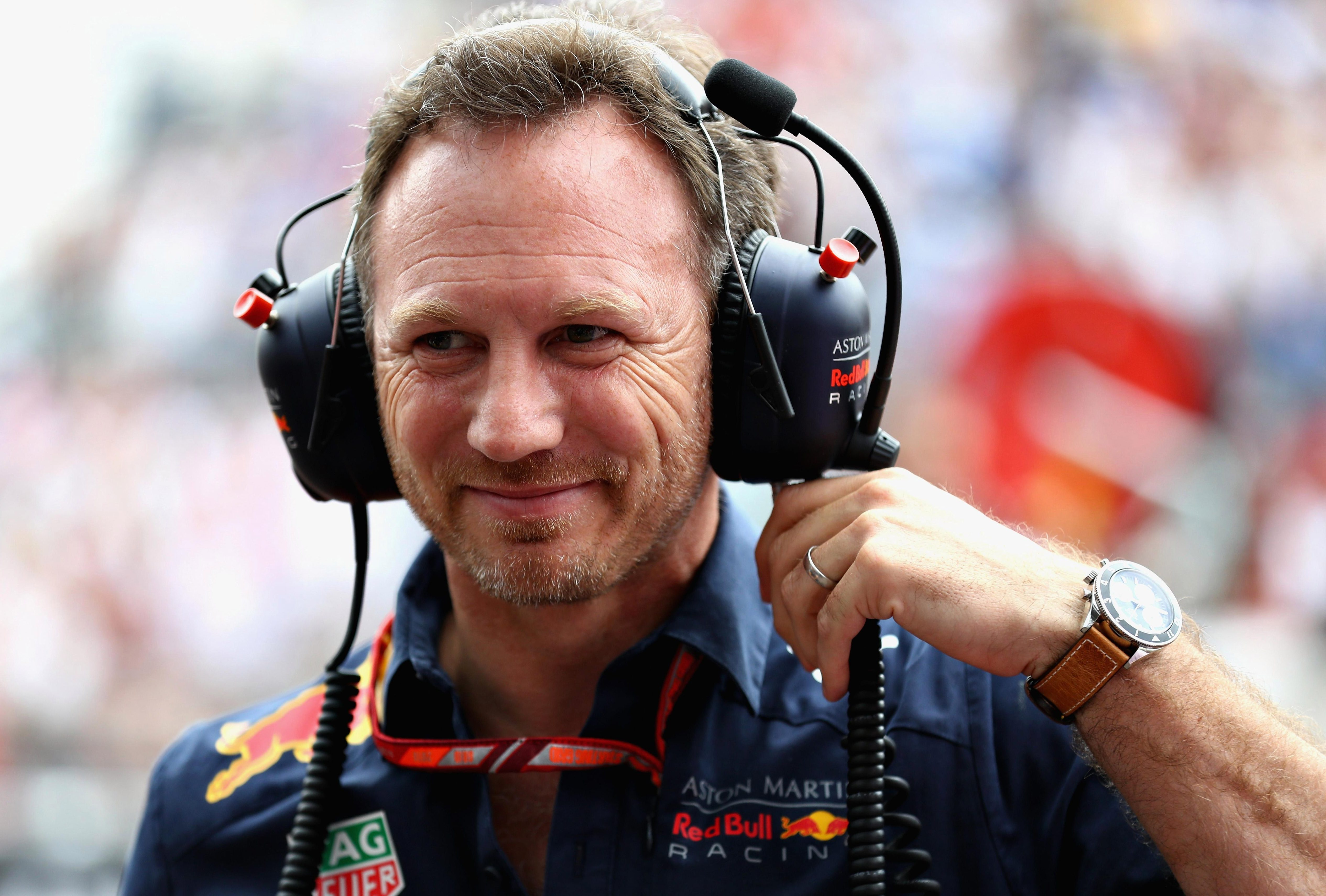 Red Bull boss Christian Horner admitted he may have to talk to Verstappen