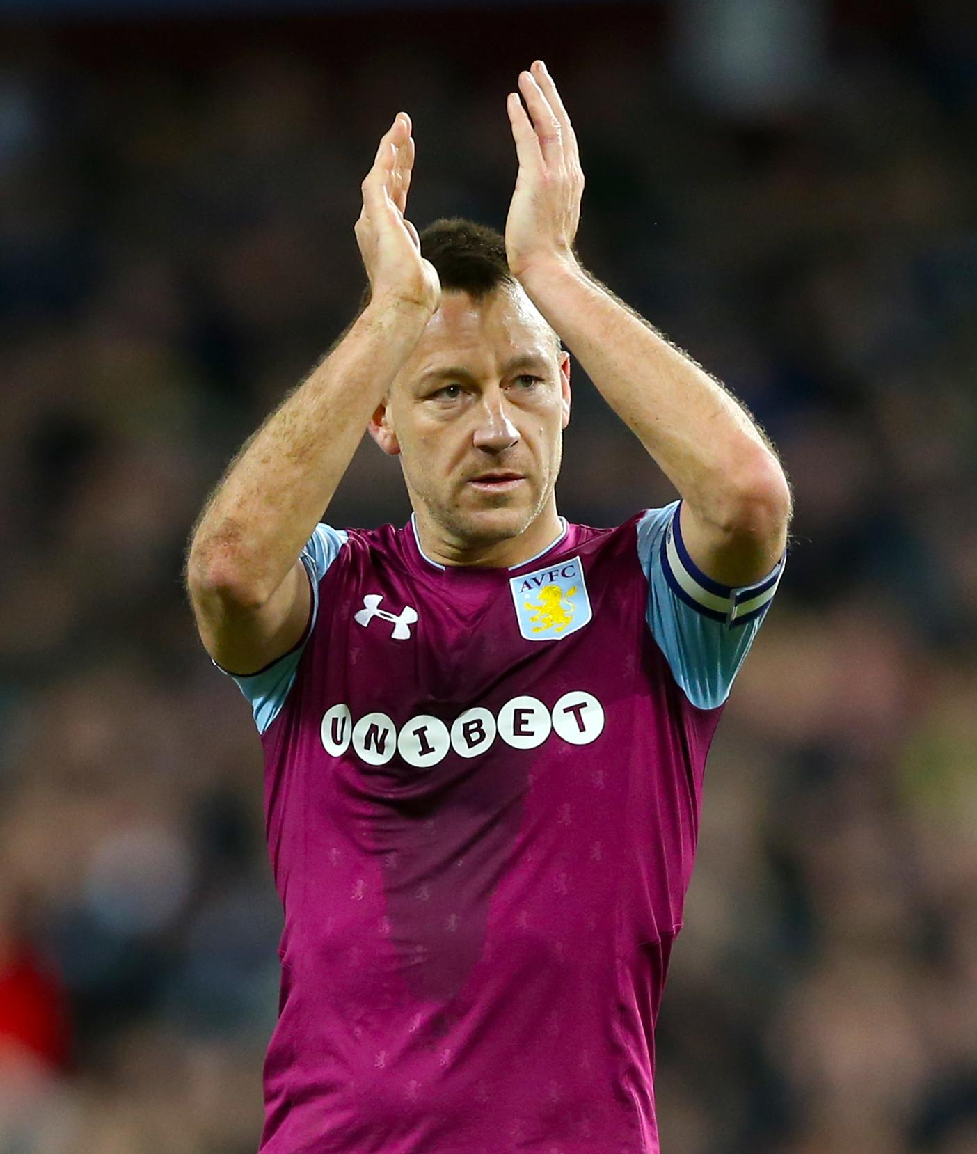 Terry, 37, is currently a free agent after leaving Championship side Aston Villa after just one season