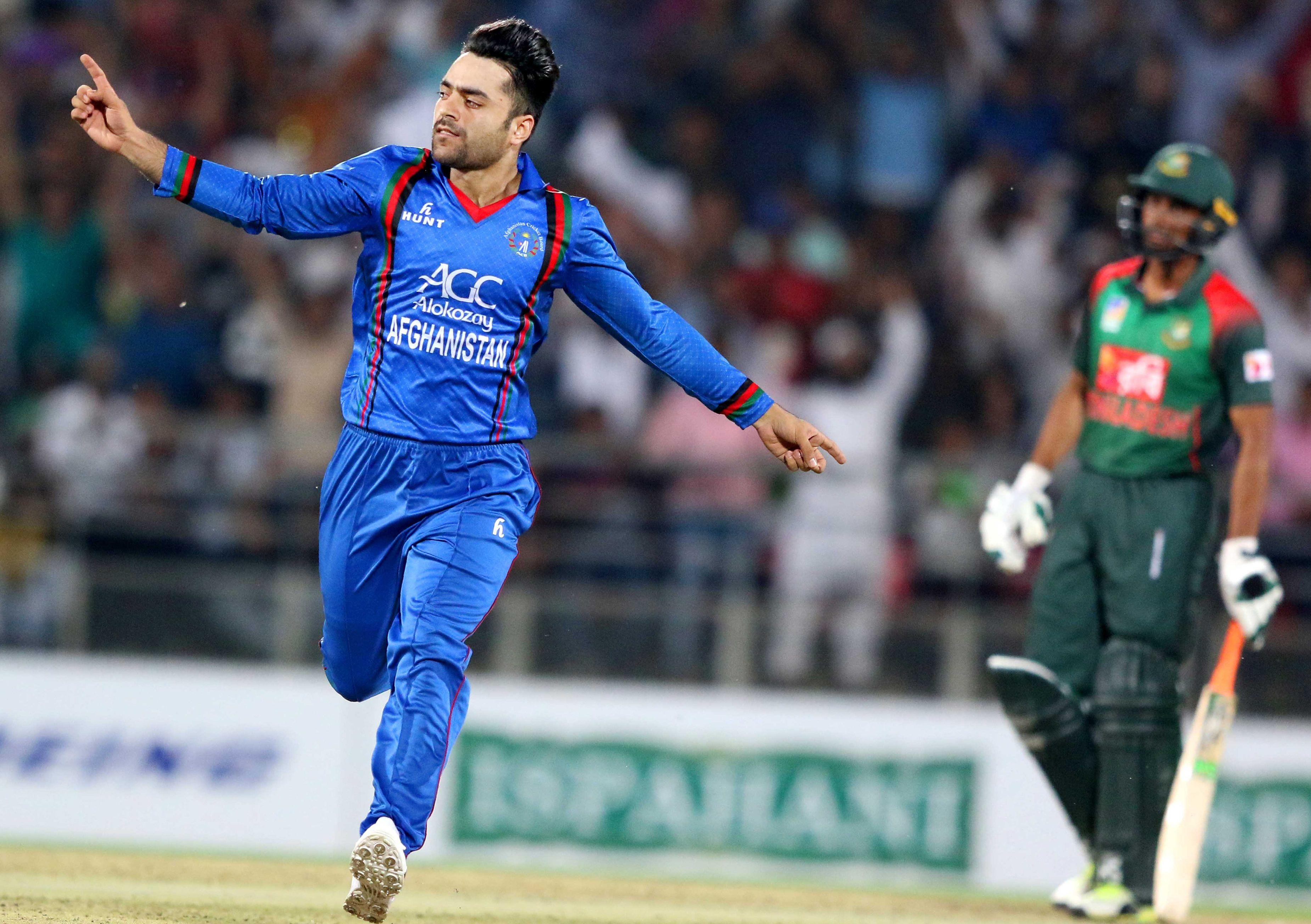 Rashid Khan and Afghanistan play their first ever Test match this week