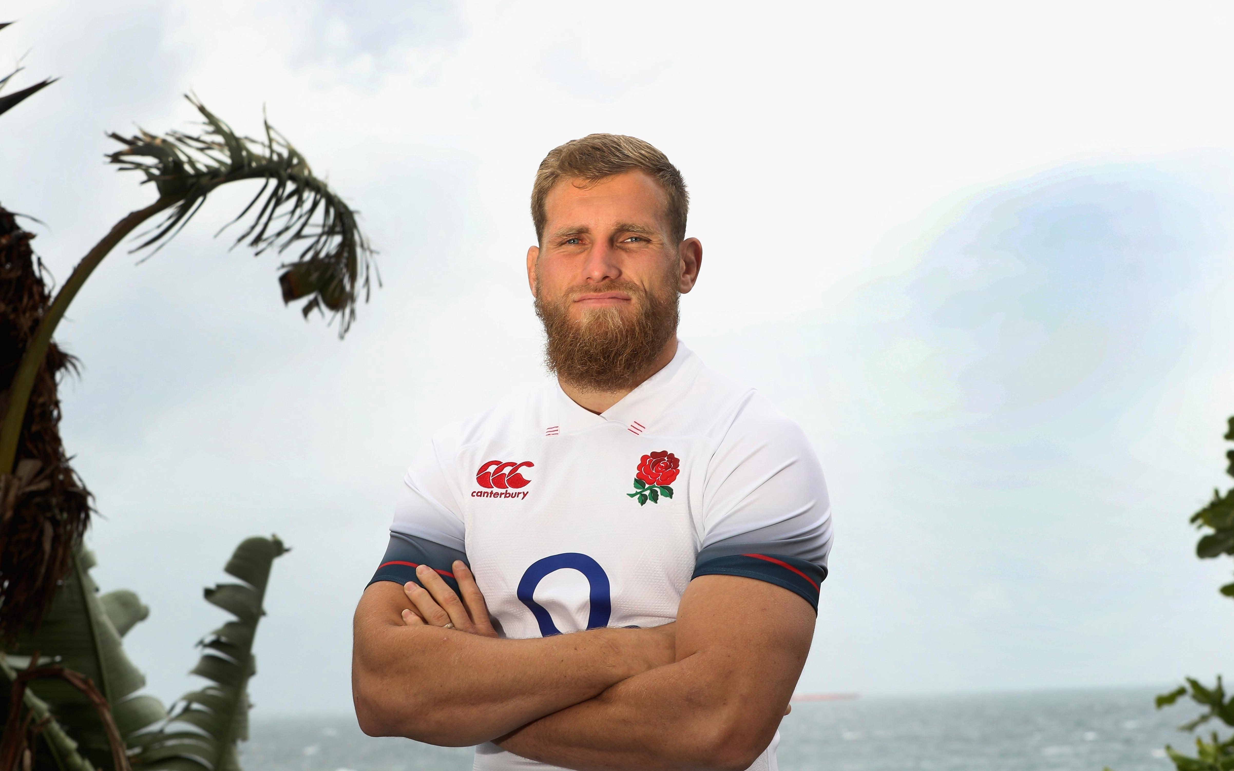 Brad Shields has been handed his England debut in South Africa