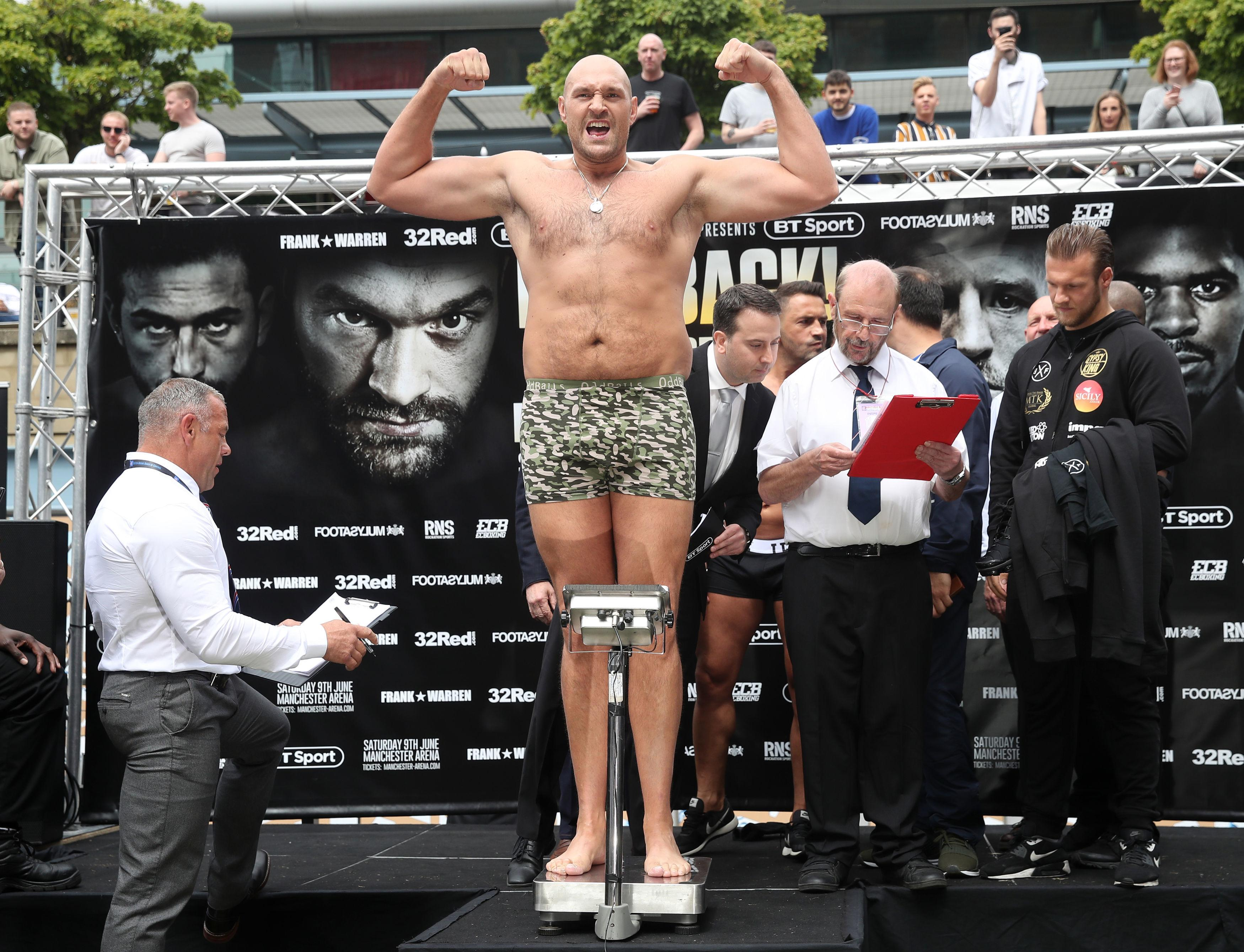 Tyson Fury is a huge favourite - as tight at 1-500, to beat Sefer Seferi this weekend