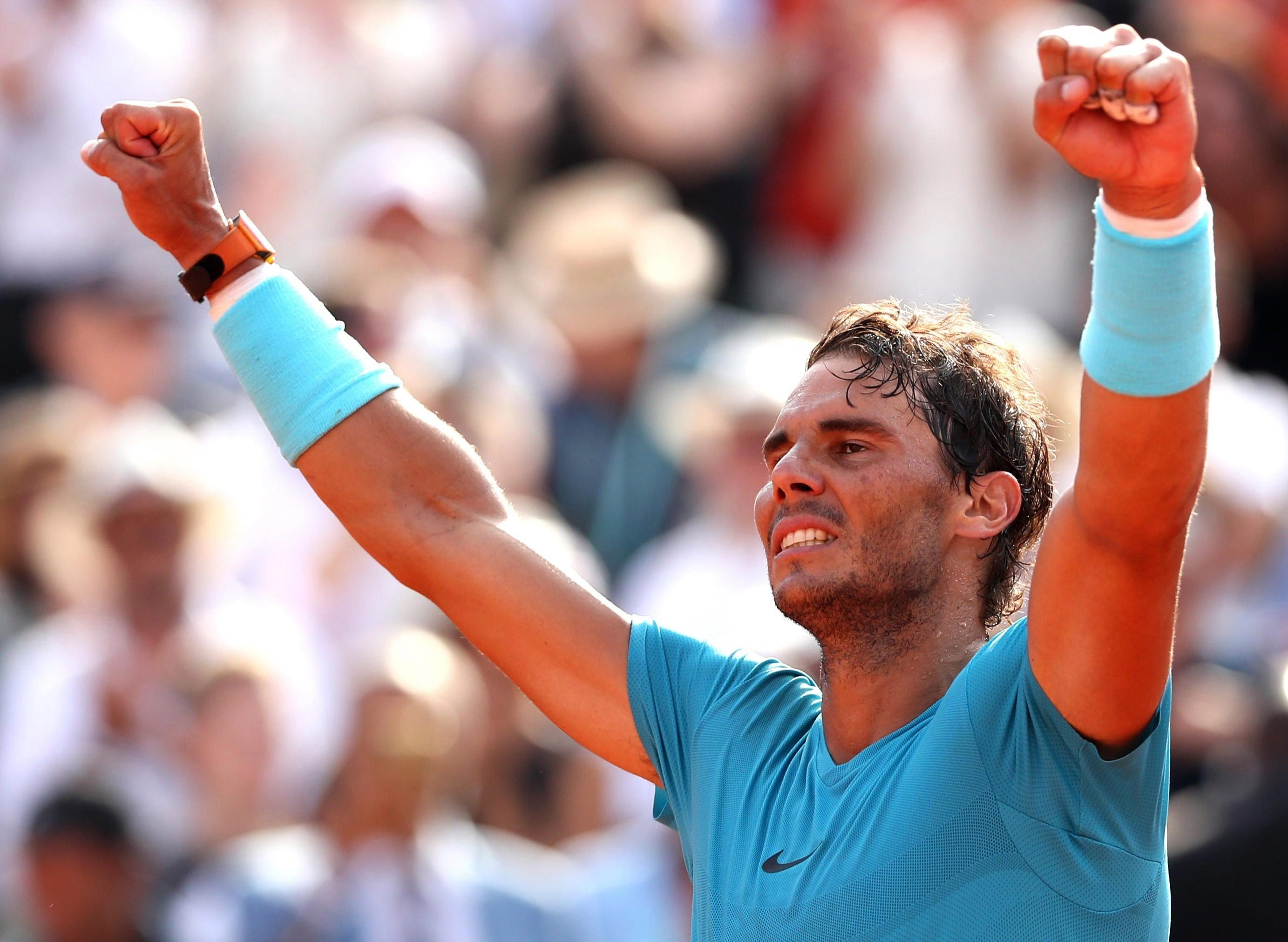 Rafa Nadal won in France - again - to make his 11th French Open final