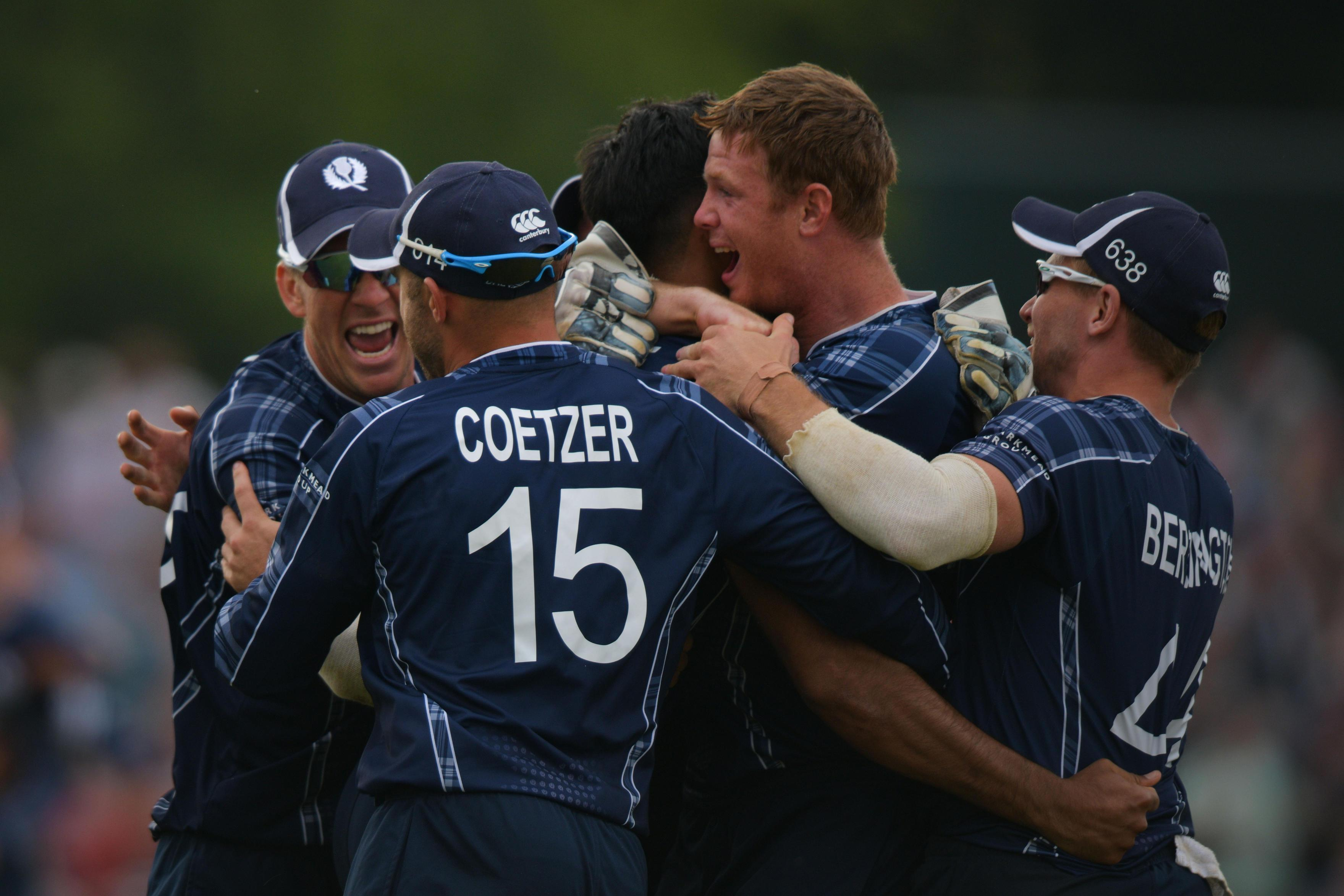 Scotland stunned England in their one-day international on Sunday