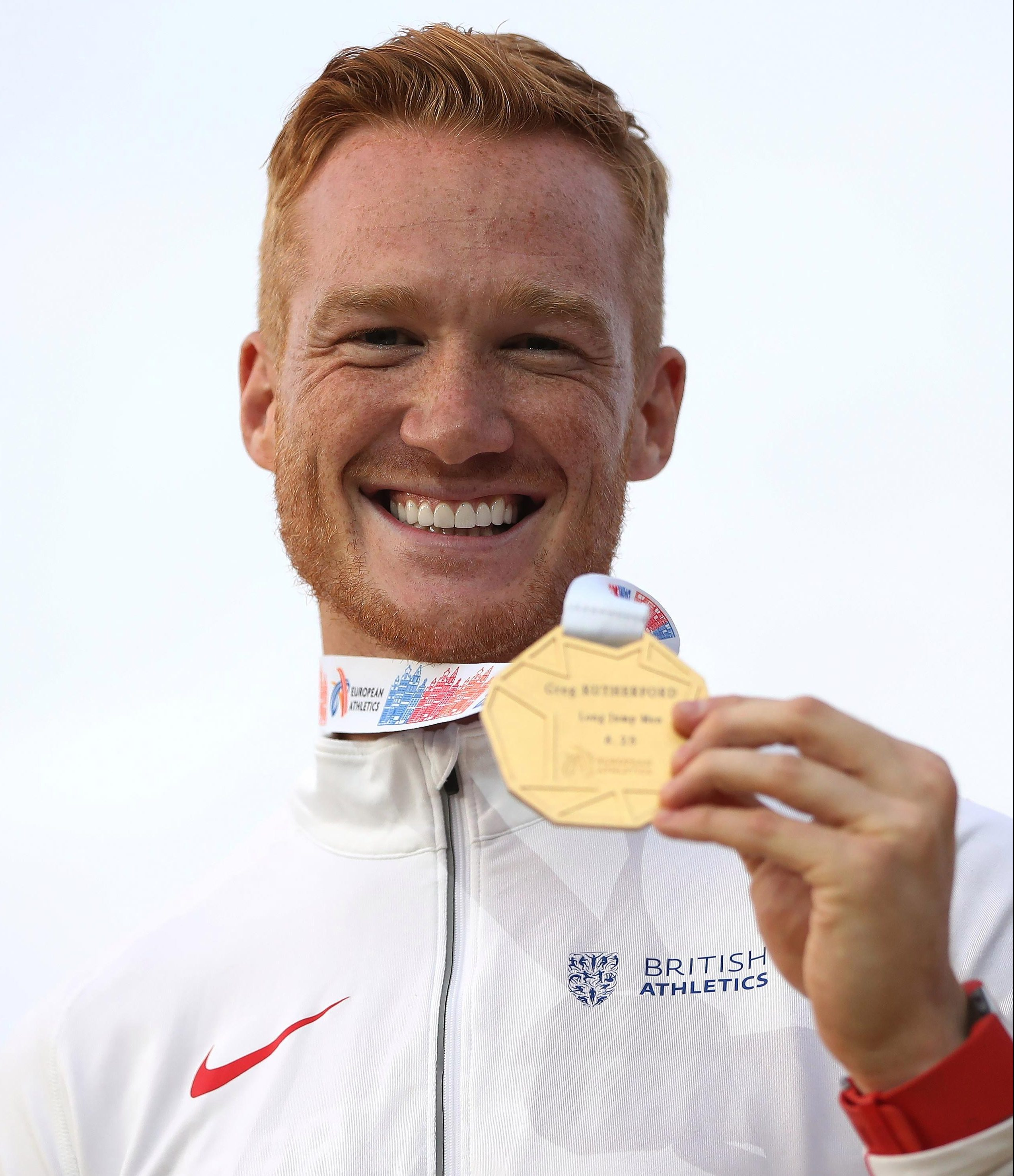 Greg Rutherford has given British athletics fans plenty to smile about