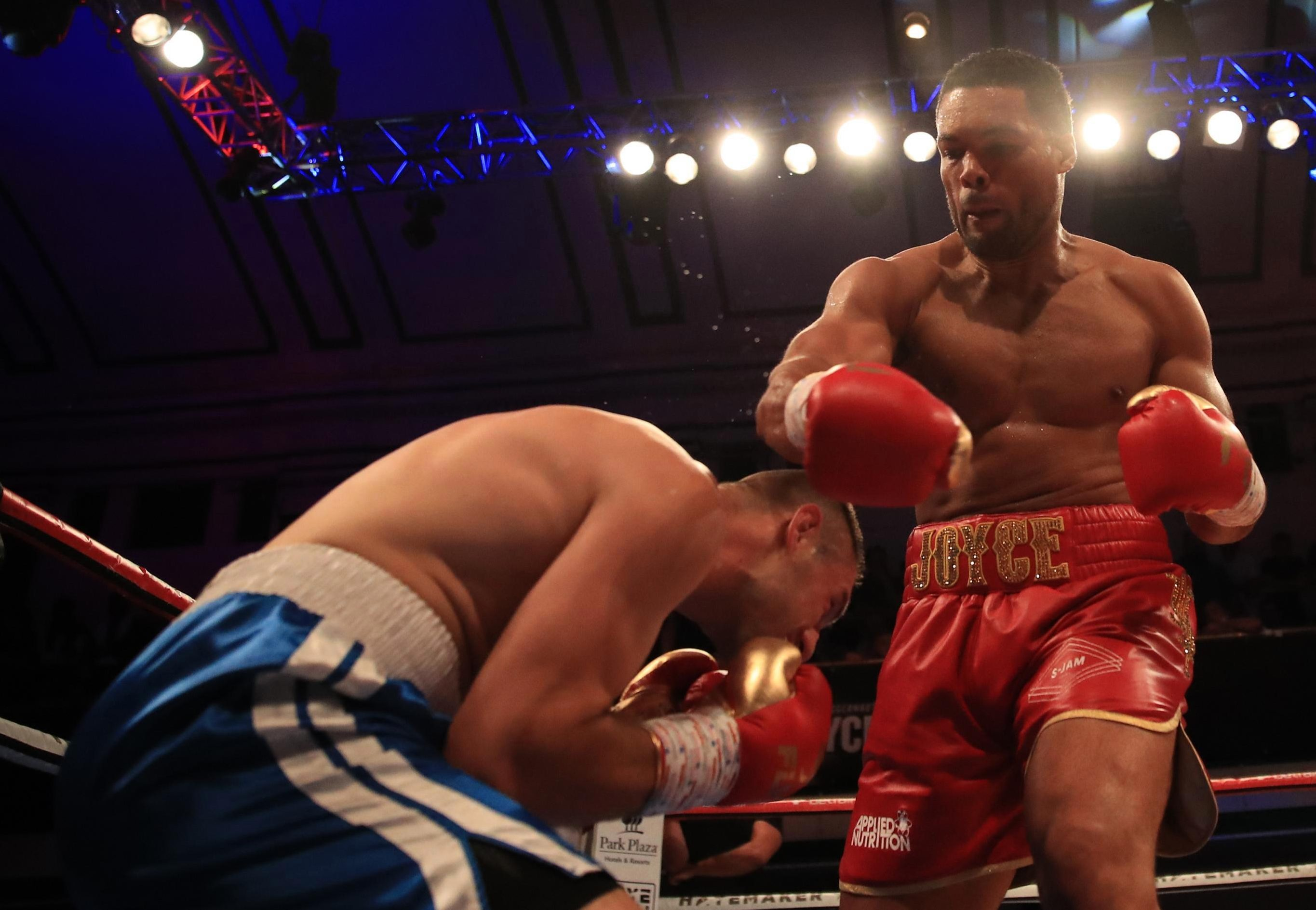Joe Joyce was able to win without landing a serious shot