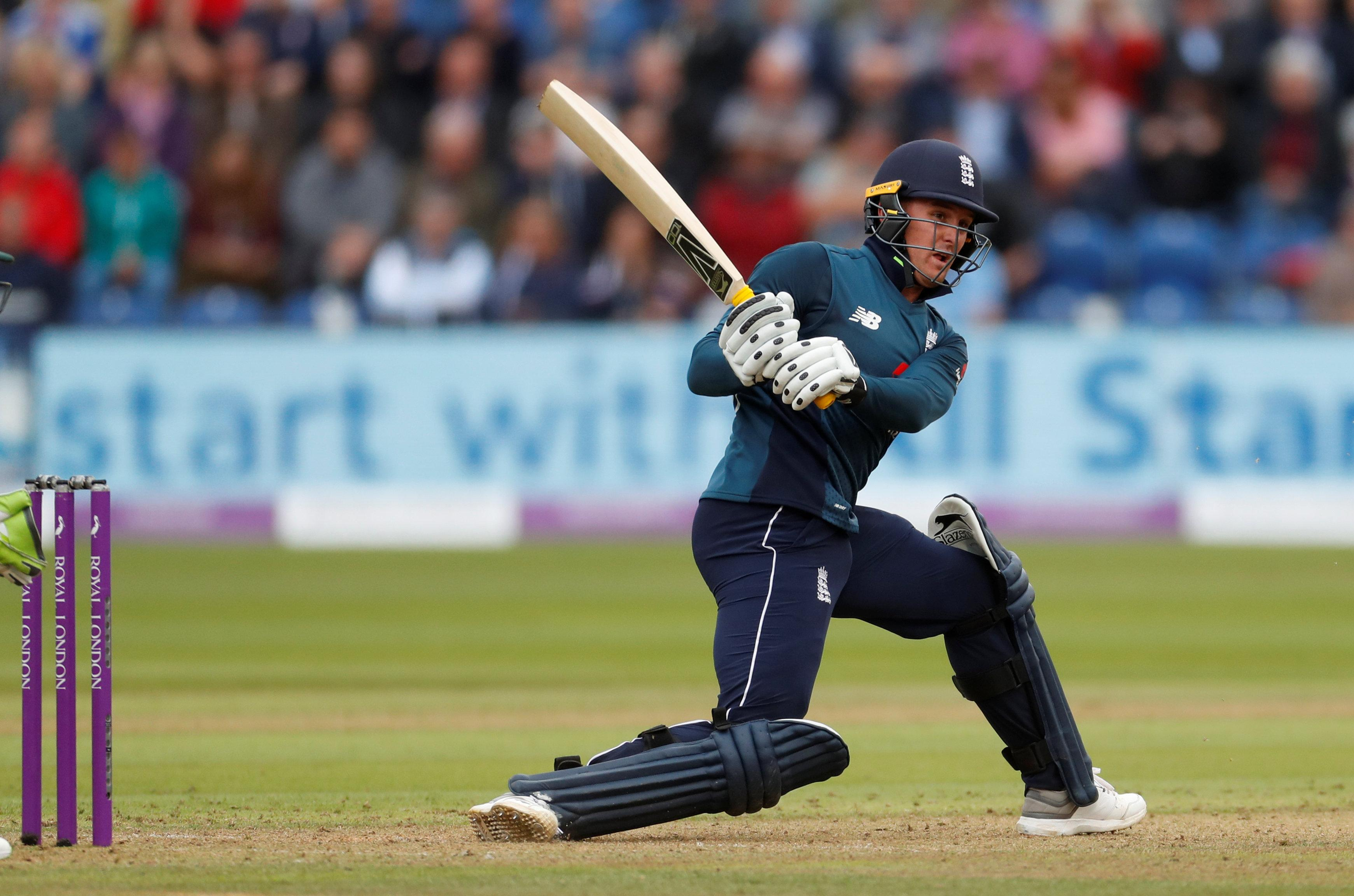 Jason Roy hit 120 from 108 deliveries as England reached 342-8