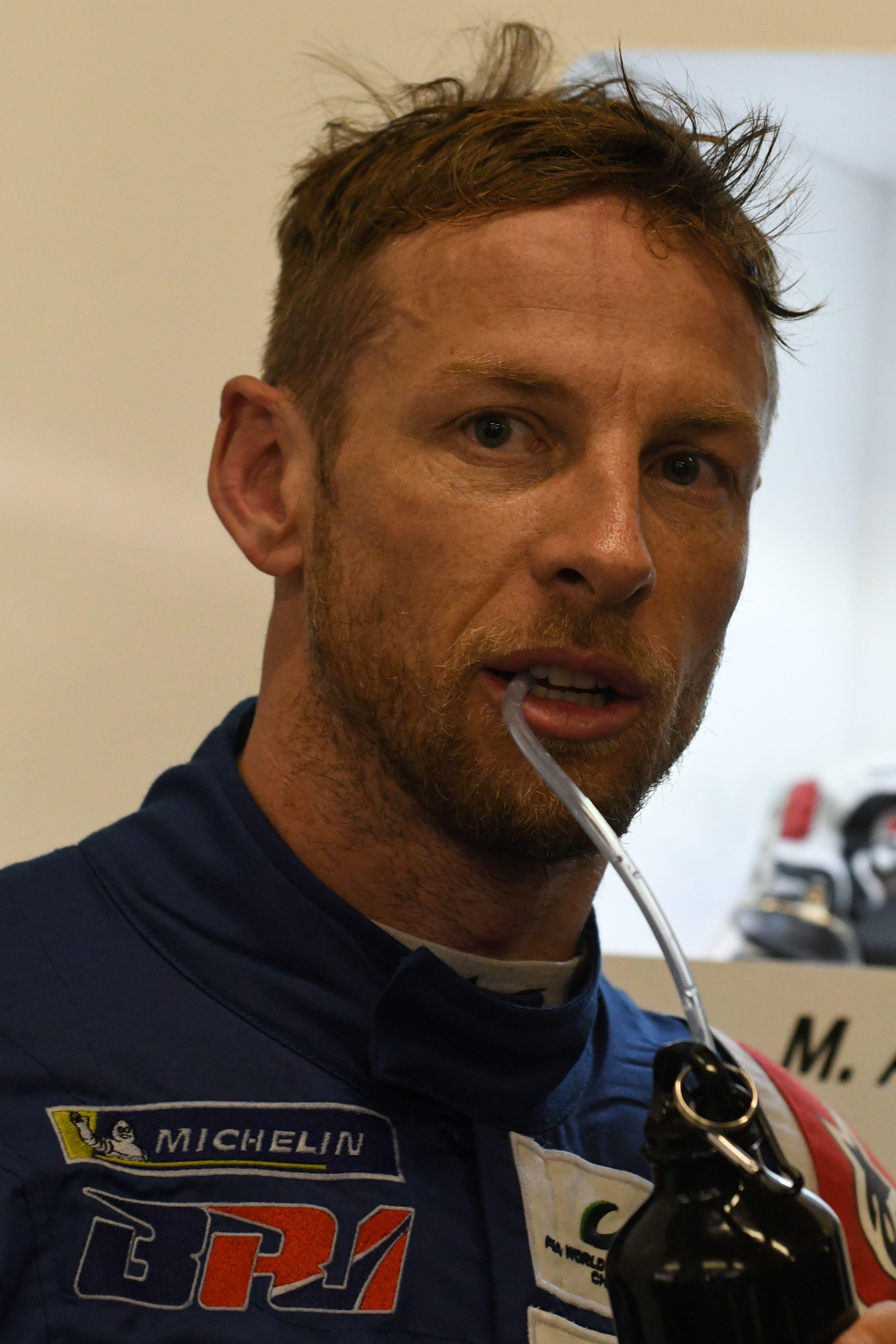 Jensen Button failed to finish Le Mans